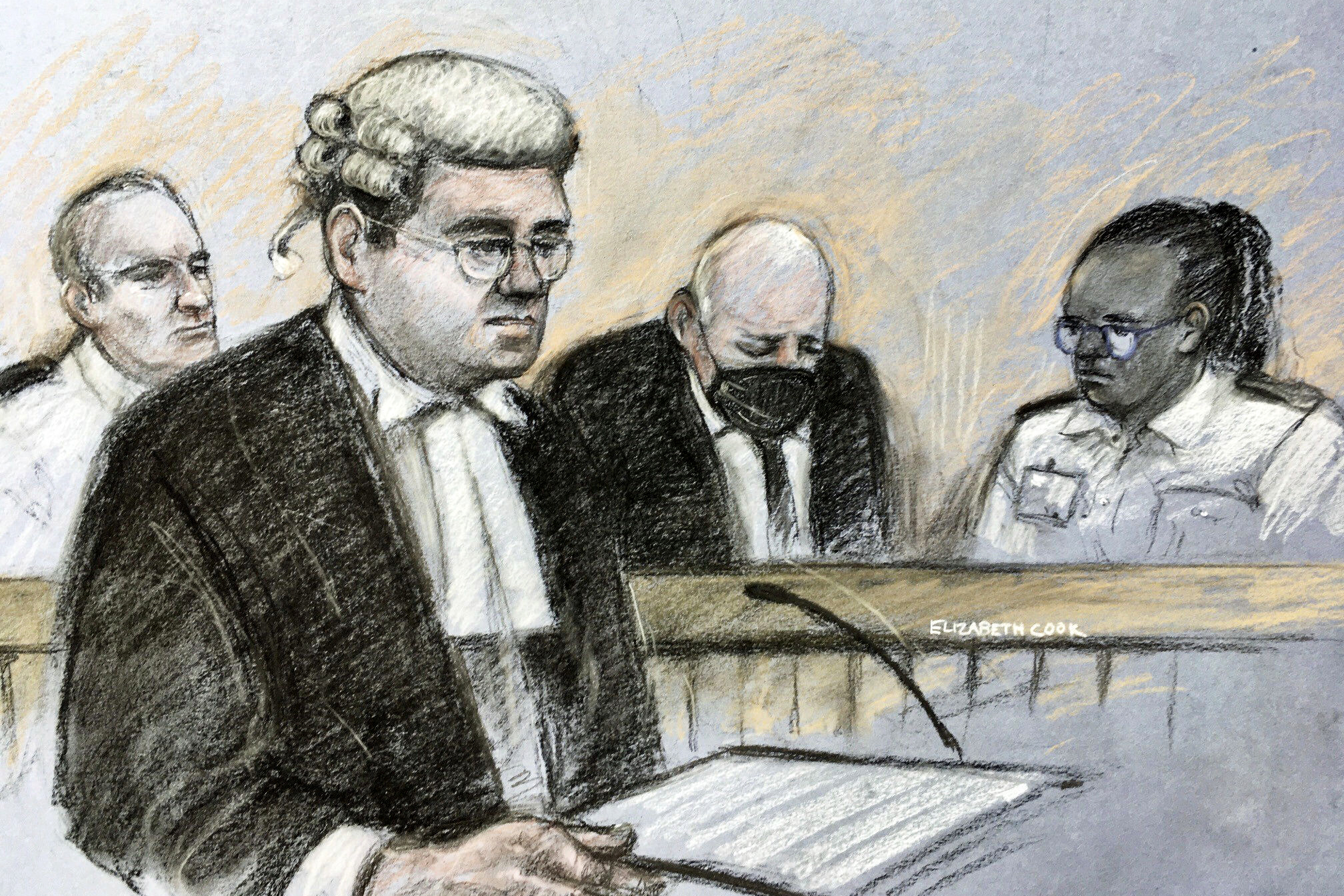 Police officer sentenced to life in prison for murder of young woman that sparked U.K. outcry