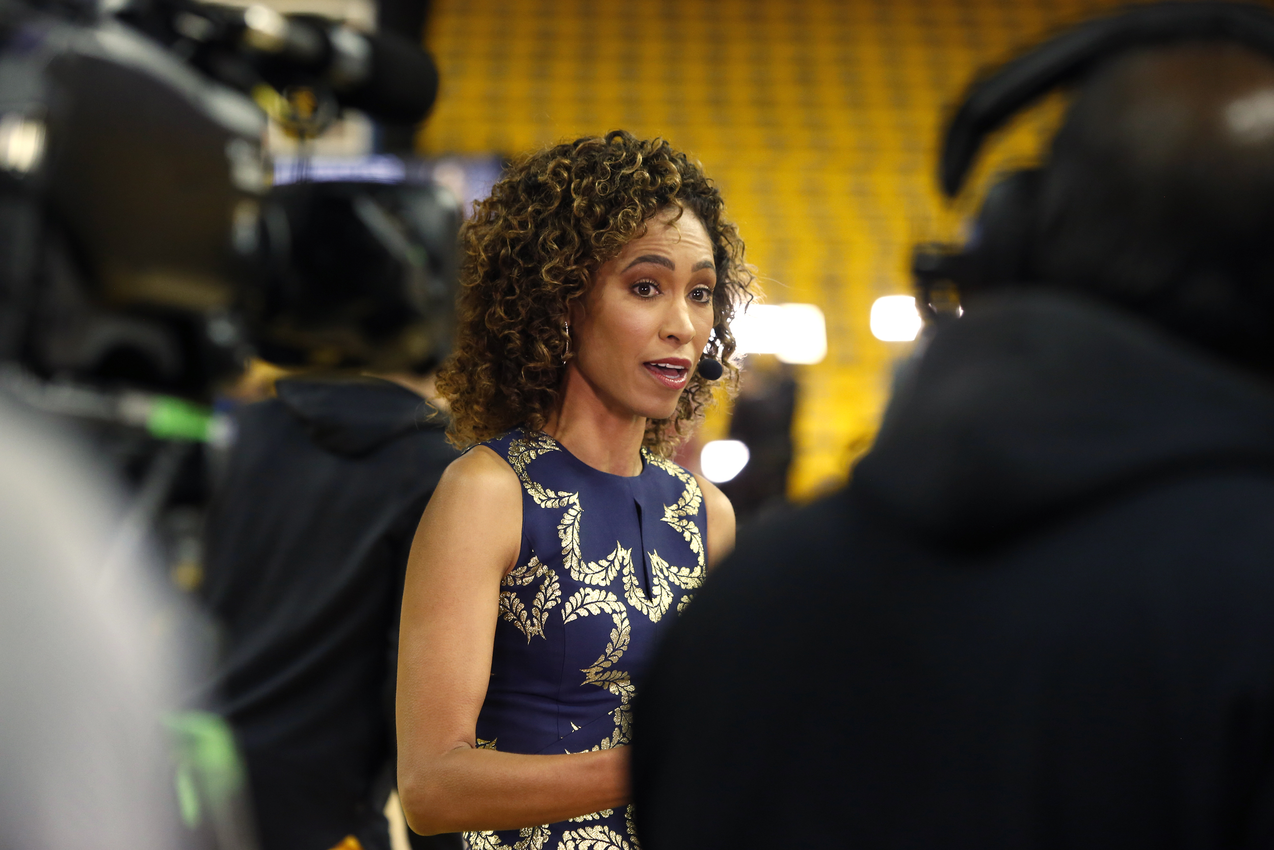 Sage Steele says she didn't want to get Covid vaccine, calls ESPN's mandate 'sick'