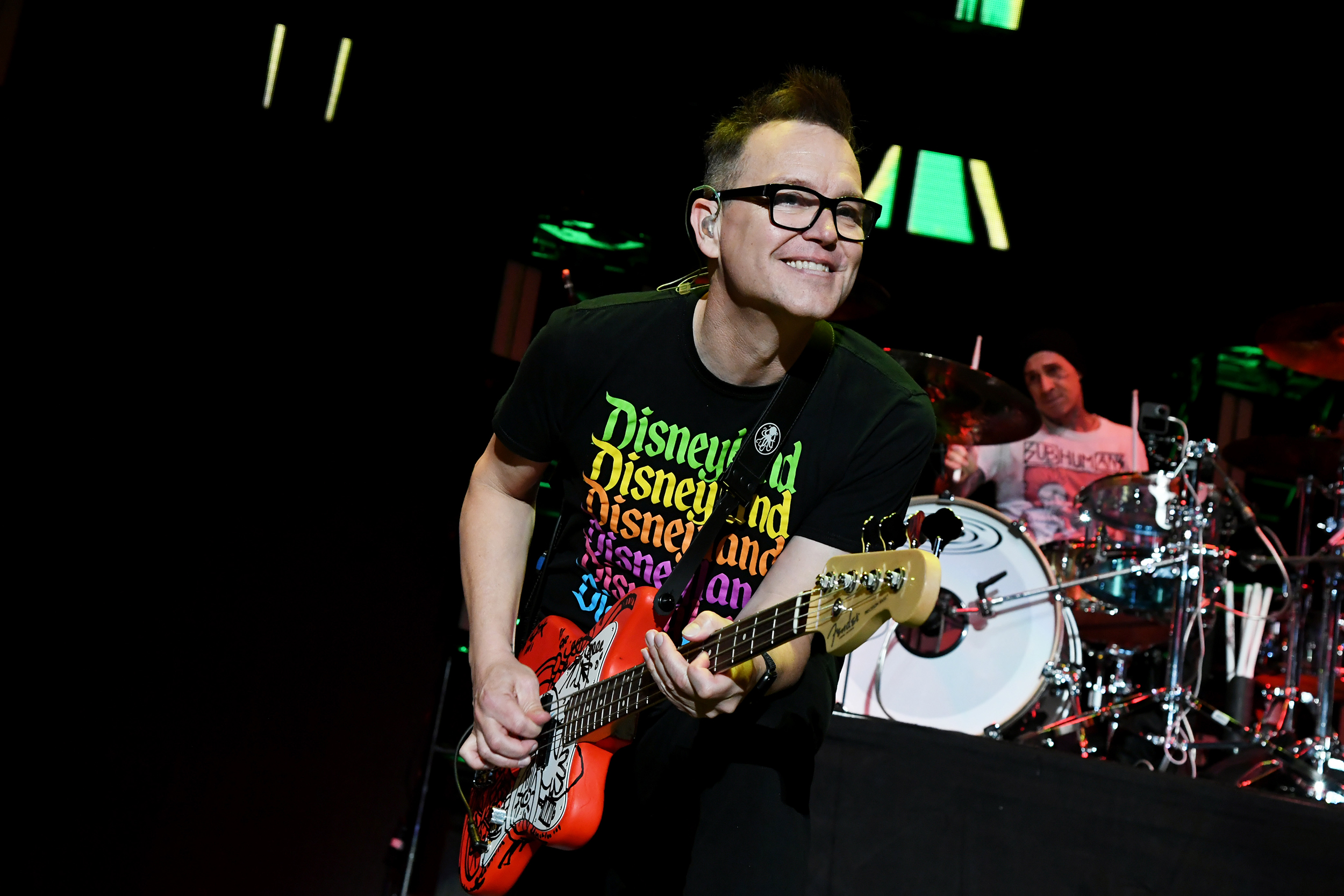 Blink-182 bassist and vocalist Mark Hoppus says he is 'cancer free'