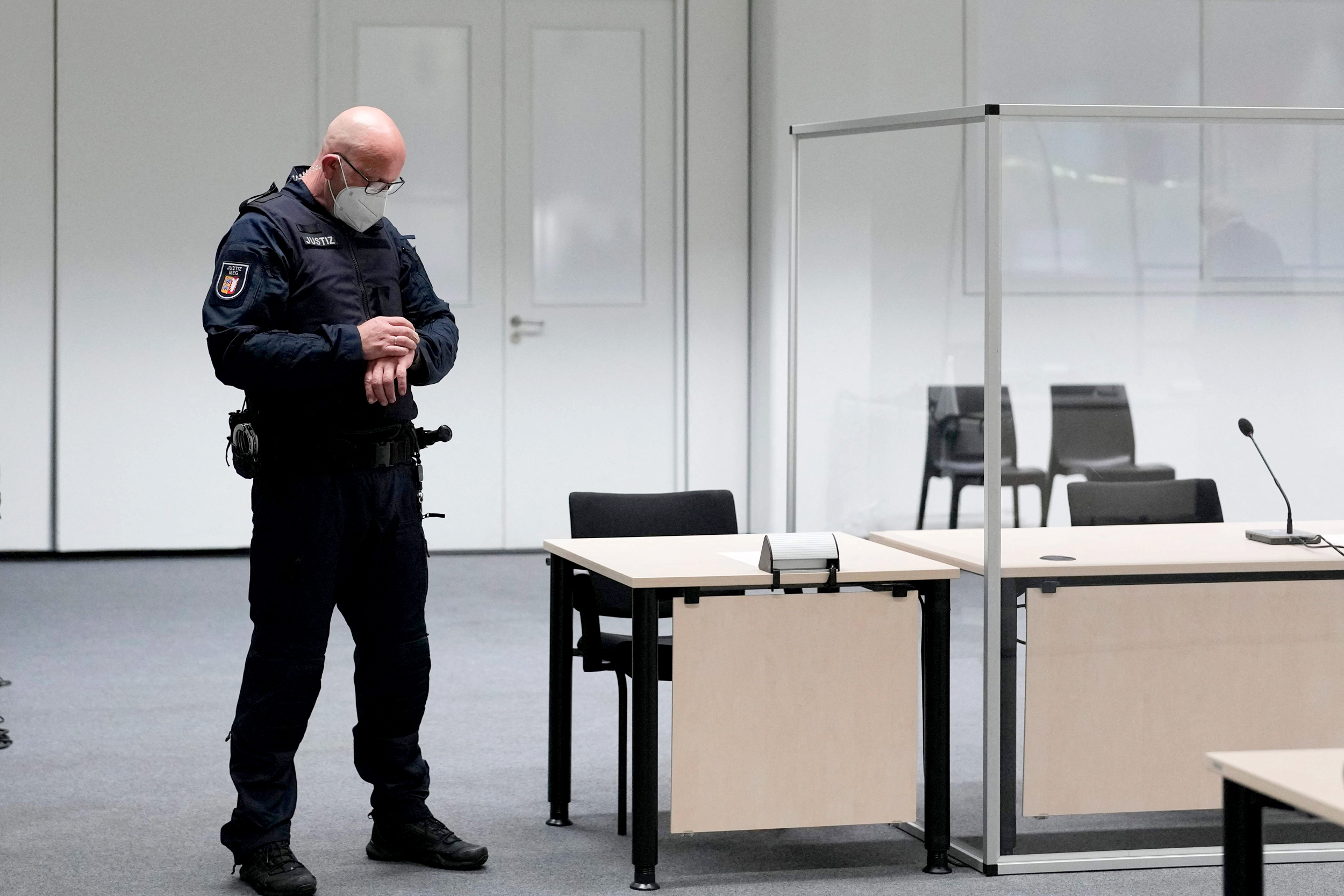96-year-old woman flees Nazi war crimes trial in taxi, later arrested