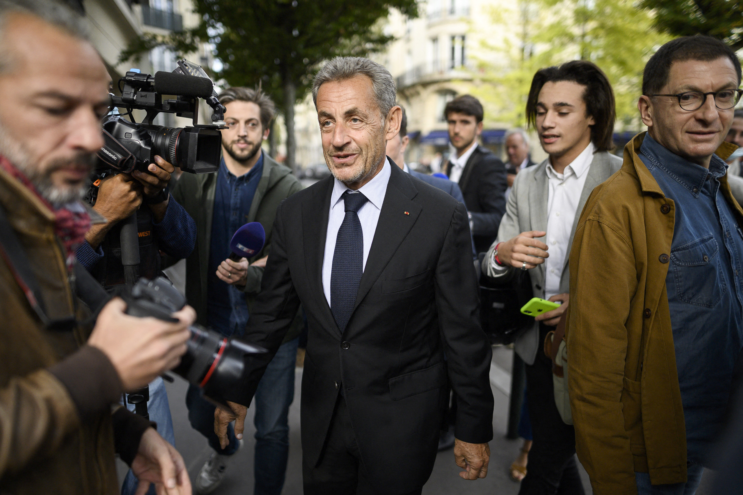 French ex-president convicted in campaign financing case