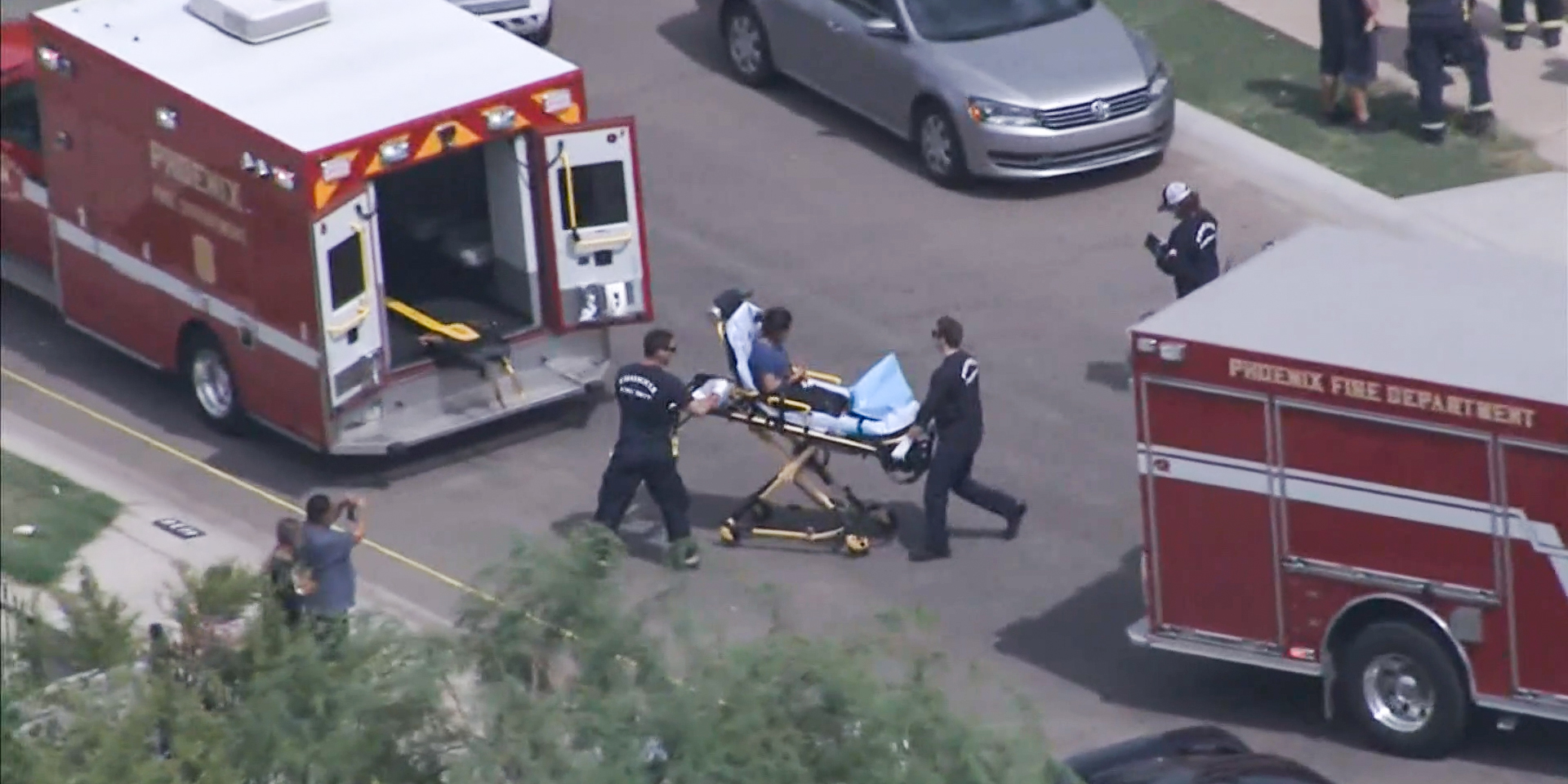 Phoenix mother accused of fatally shooting daughter, 2, and critically wounding son, 6