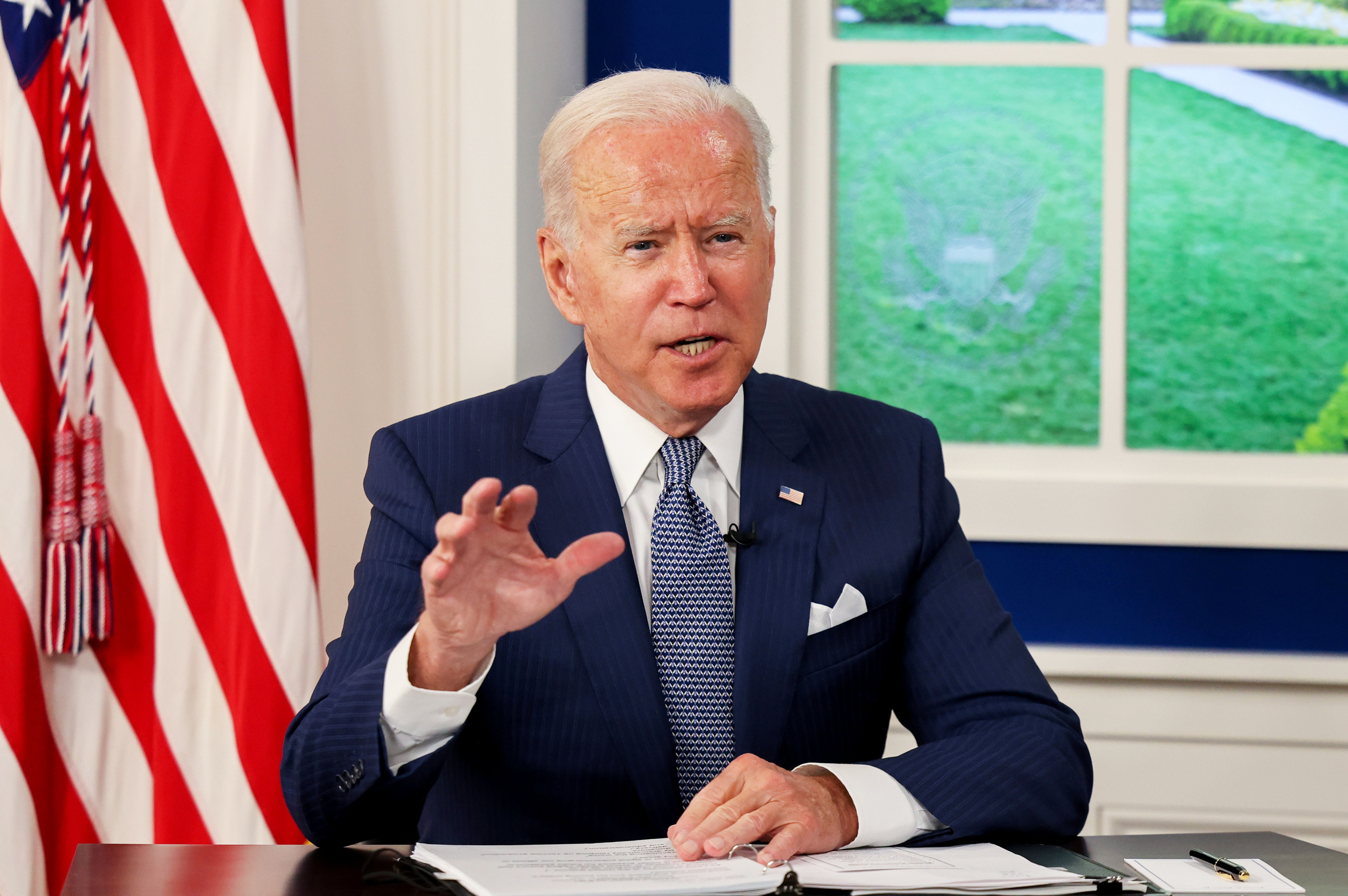 Biden faces pressure to break Democratic impasse