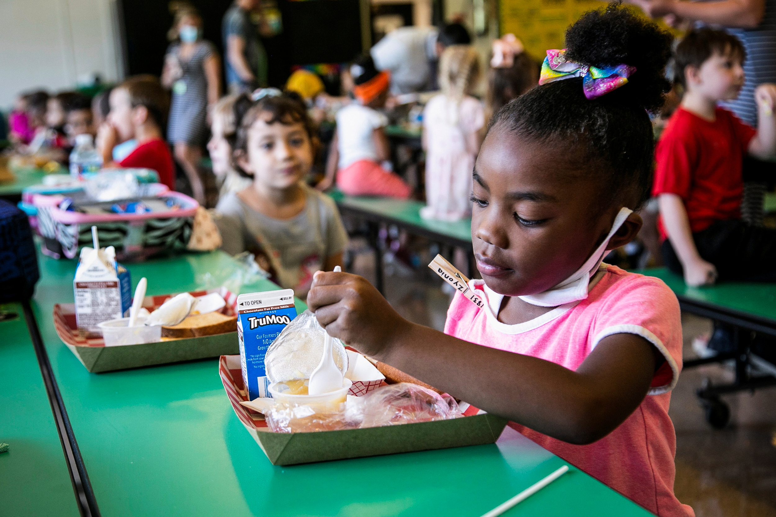 Hopes for a better school year dim as staff struggle to put food on school lunch plates