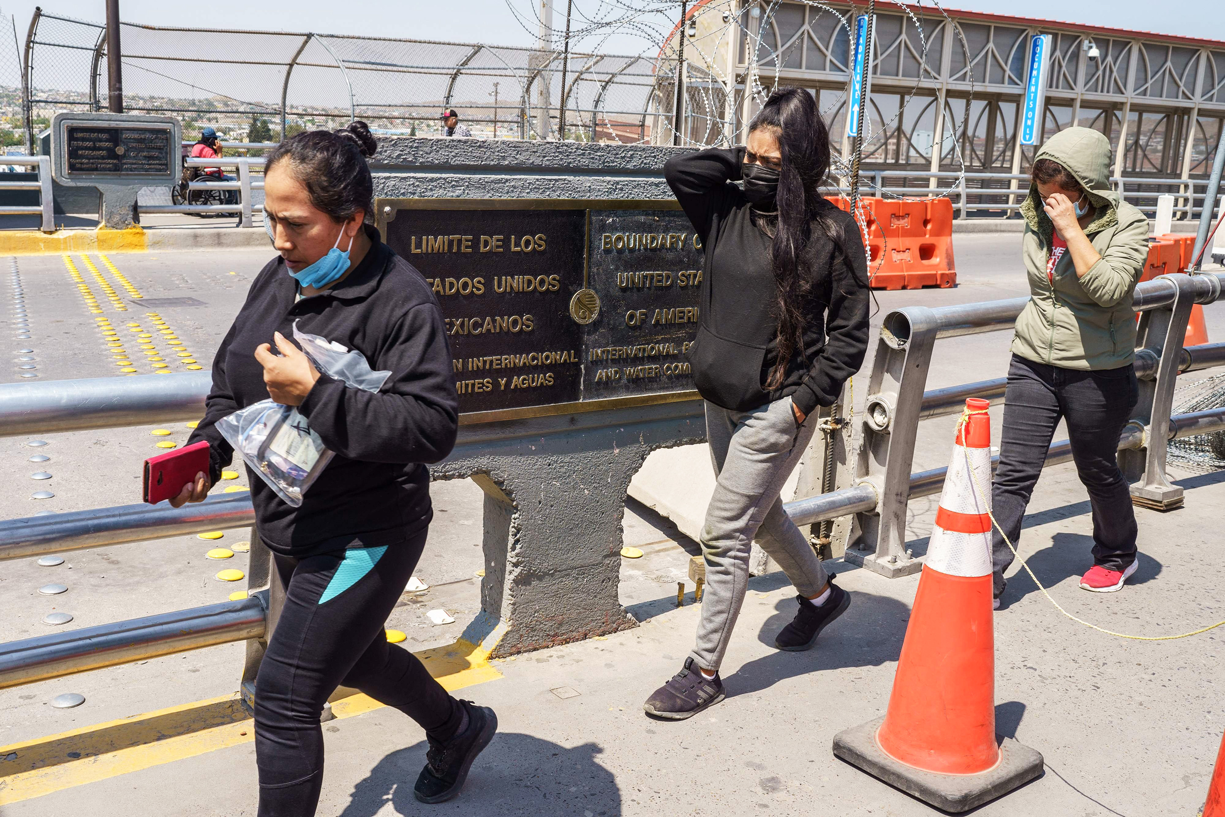 Court sides with Biden administration, preserves Covid limits on asylum-seekers for now