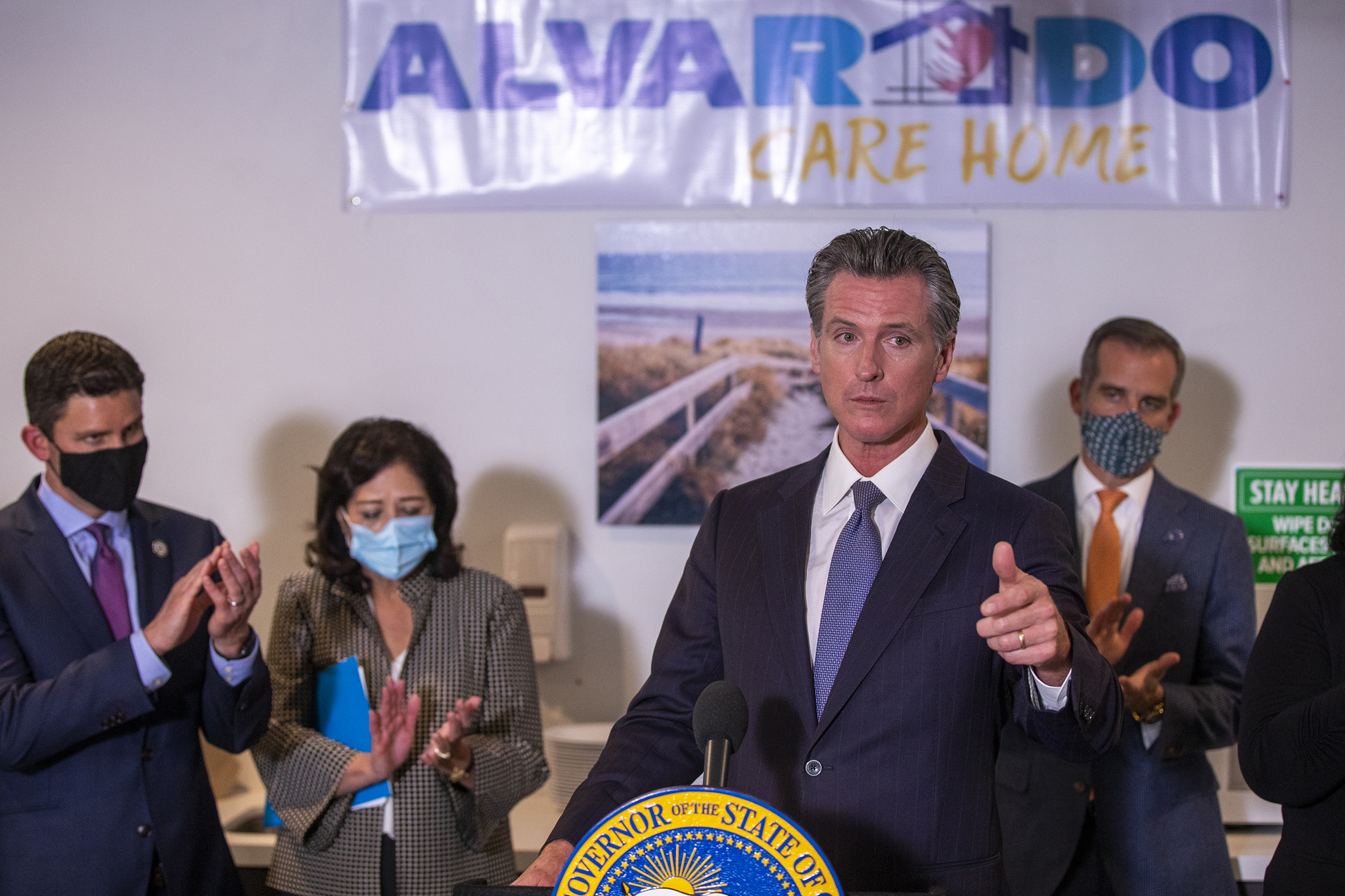 California governor signs off on series of police reform bills