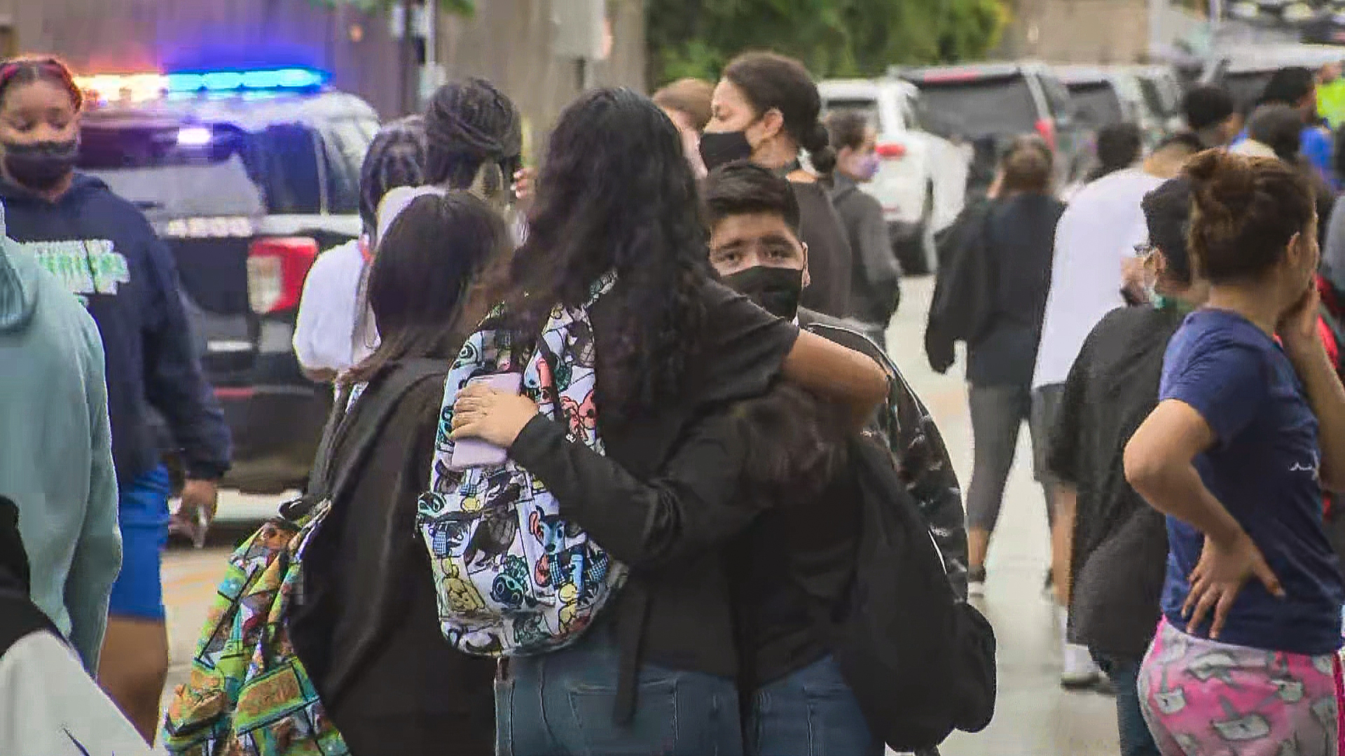 Shooting at Houston high school leaves administrator wounded, former student in custody