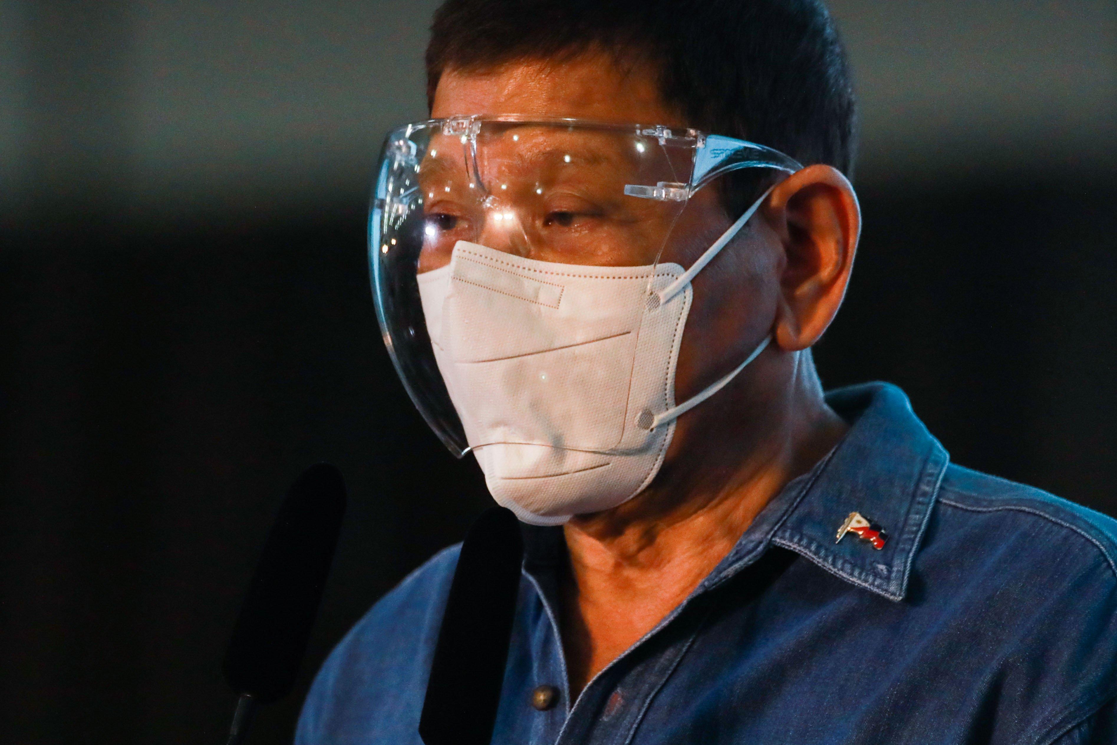 Philippine President Rodrigo Duterte announces 'retirement from politics'