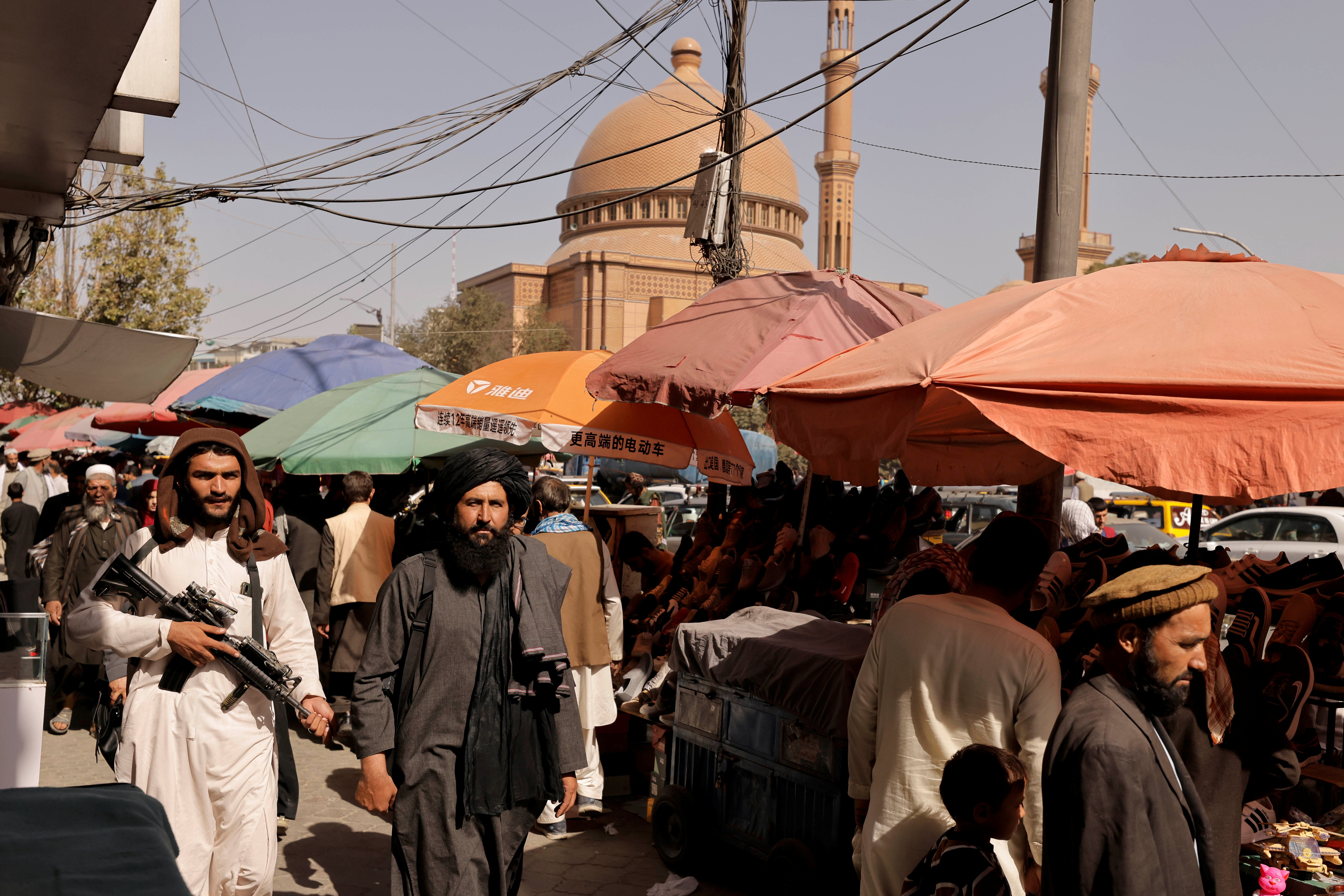 Afghanistan on verge of socio-economic collapse, E.U.'s top diplomat says