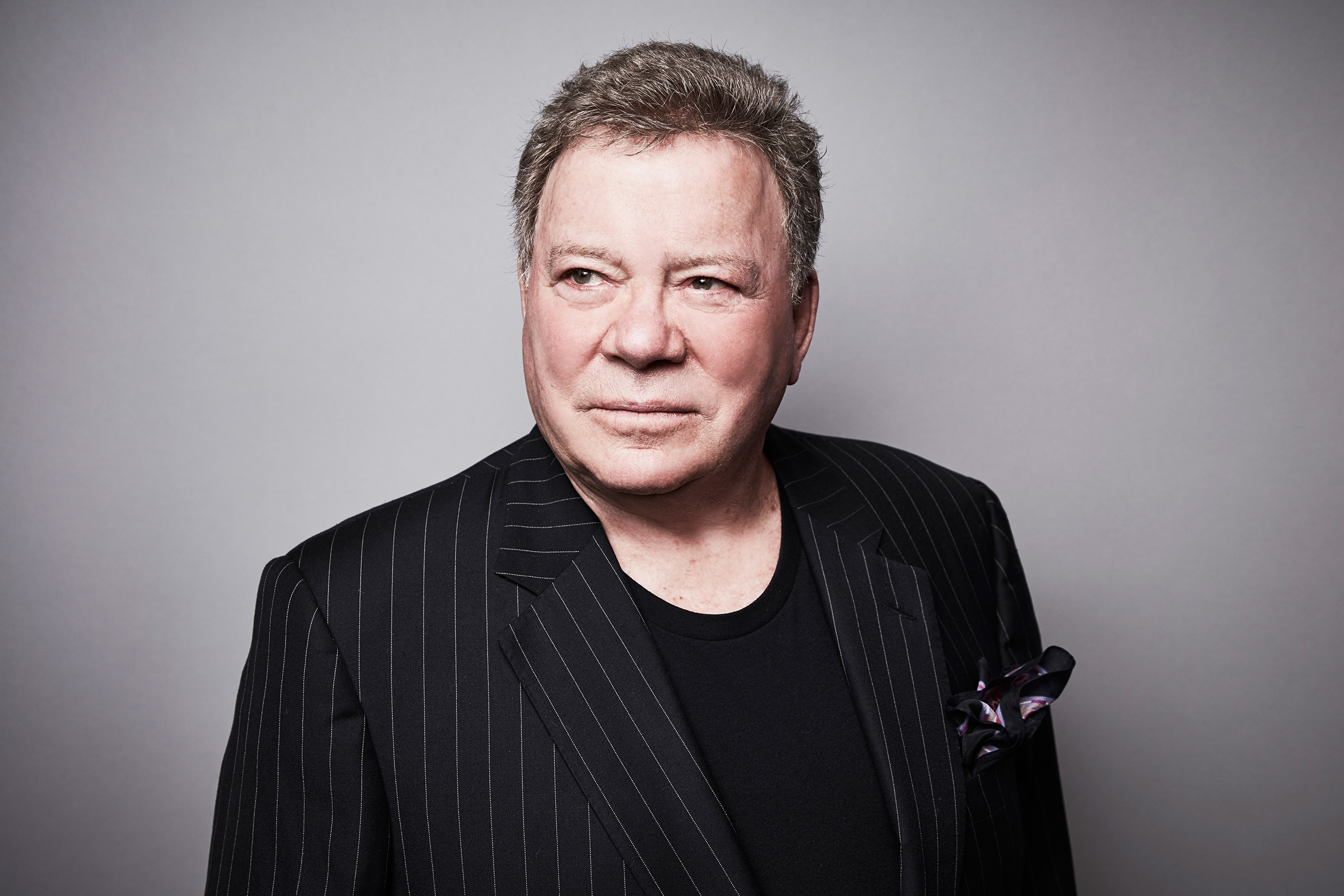 William Shatner says he looks forward to seeing 'the vastness of space'