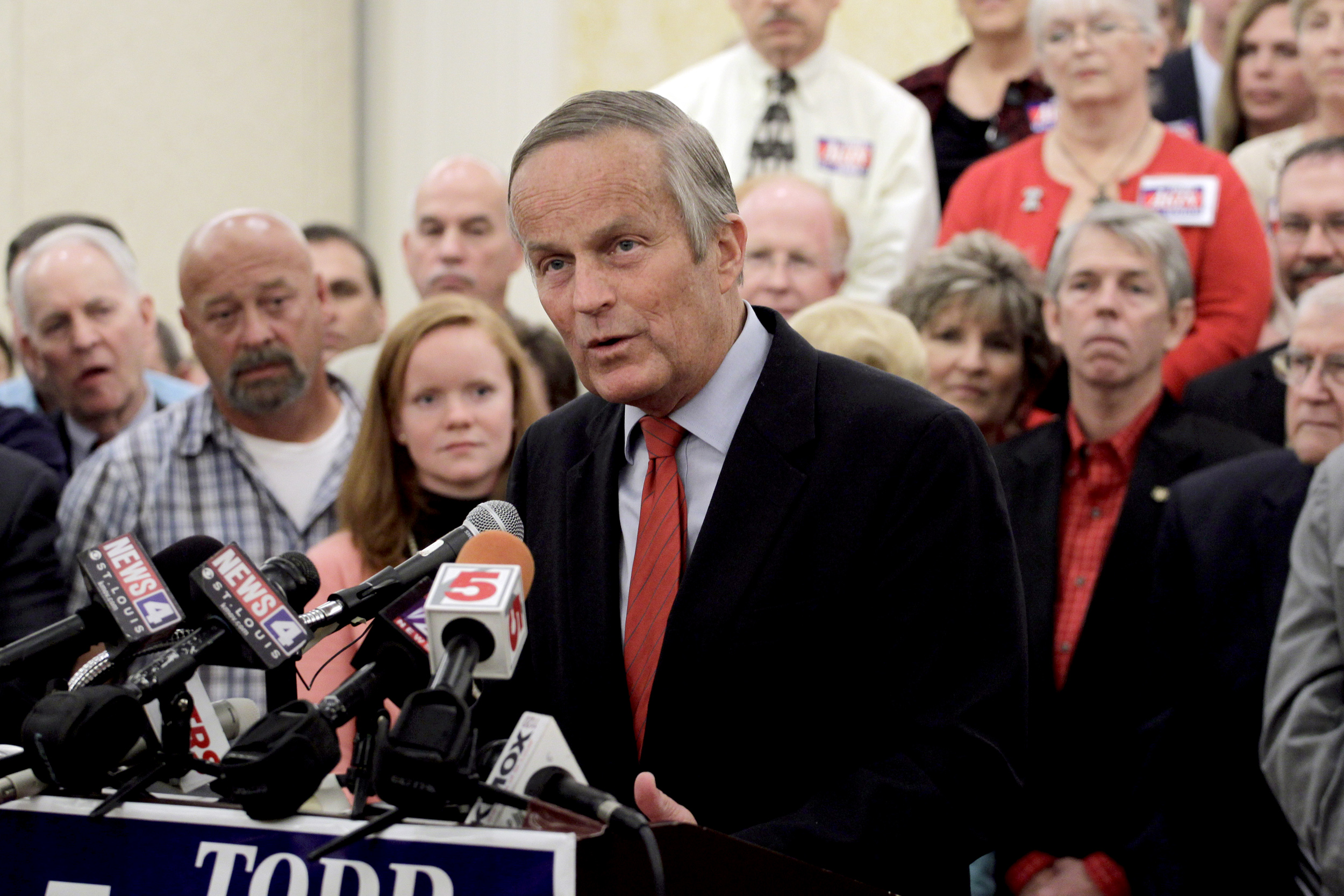 Ex-Rep. Todd Akin, sunk by 'legitimate rape' remark, dies