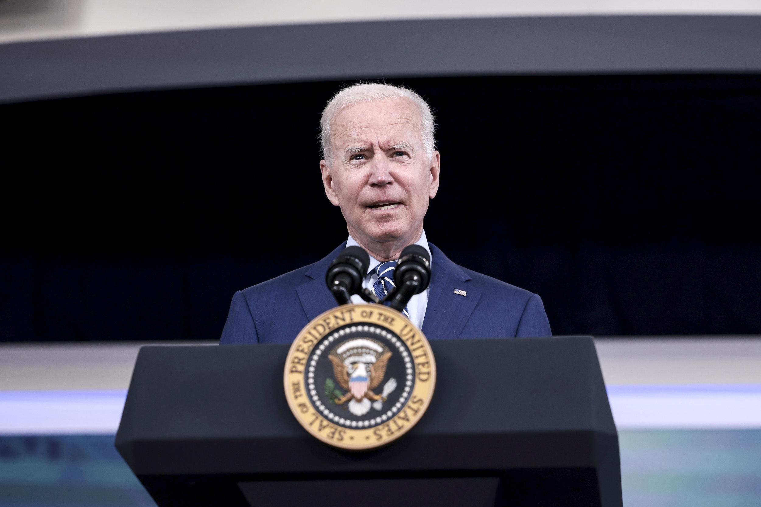 Biden accuses Republicans of 'Russian roulette' on debt limit