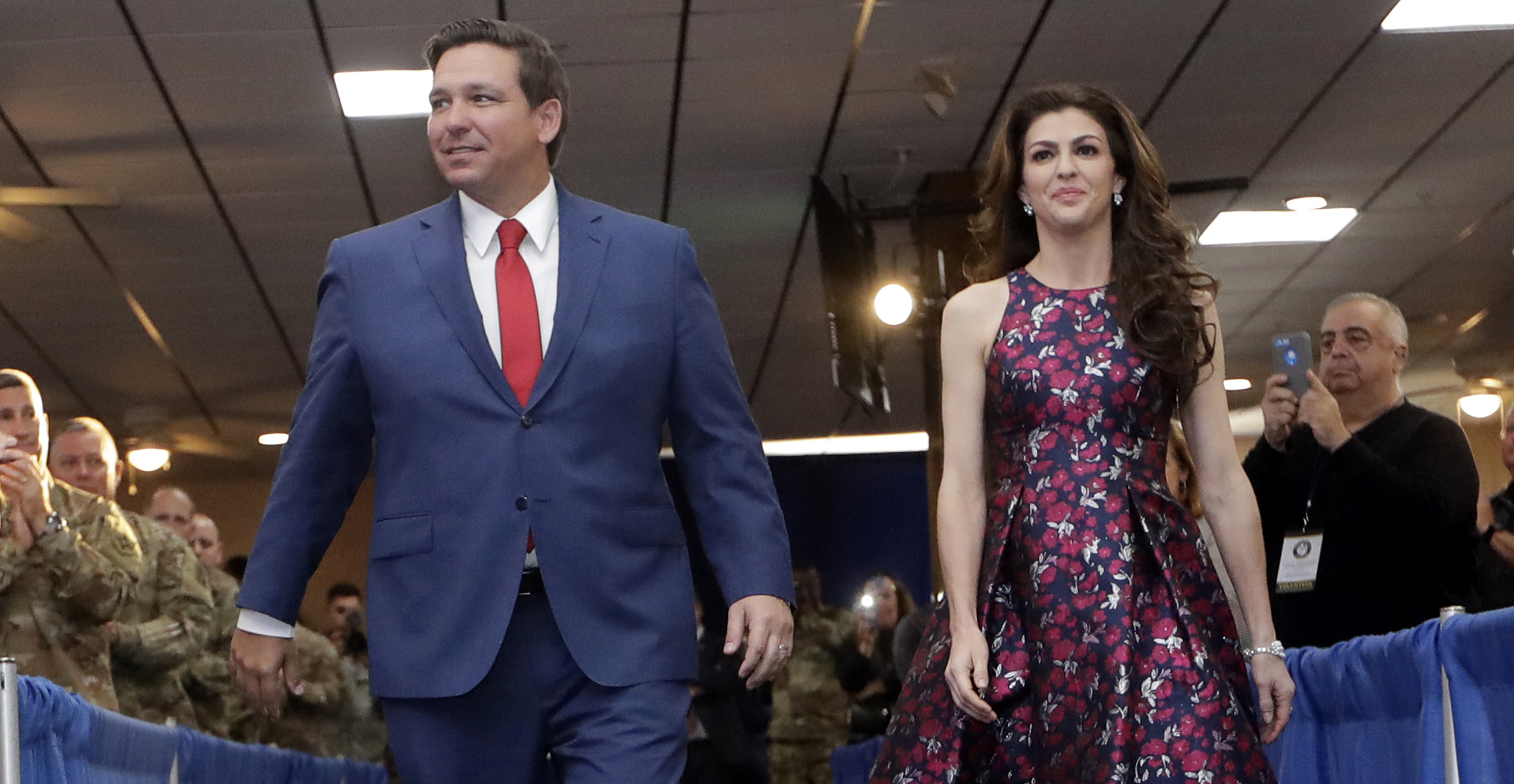 Casey DeSantis, wife of Florida governor, diagnosed with breast cancer
