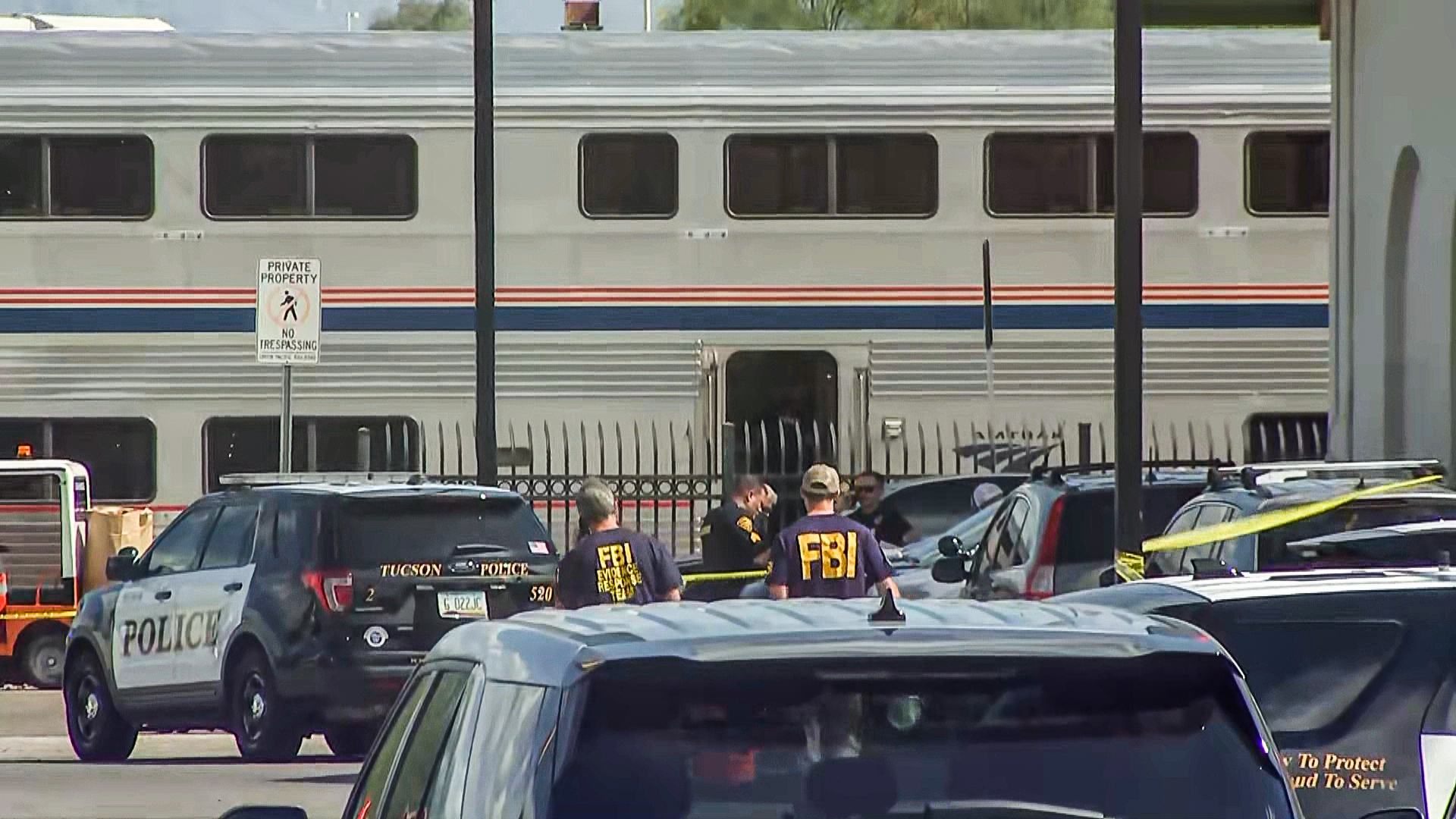 DEA agent killed, 2 law enforcement officers injured in shooting on Amtrak train in Tucson