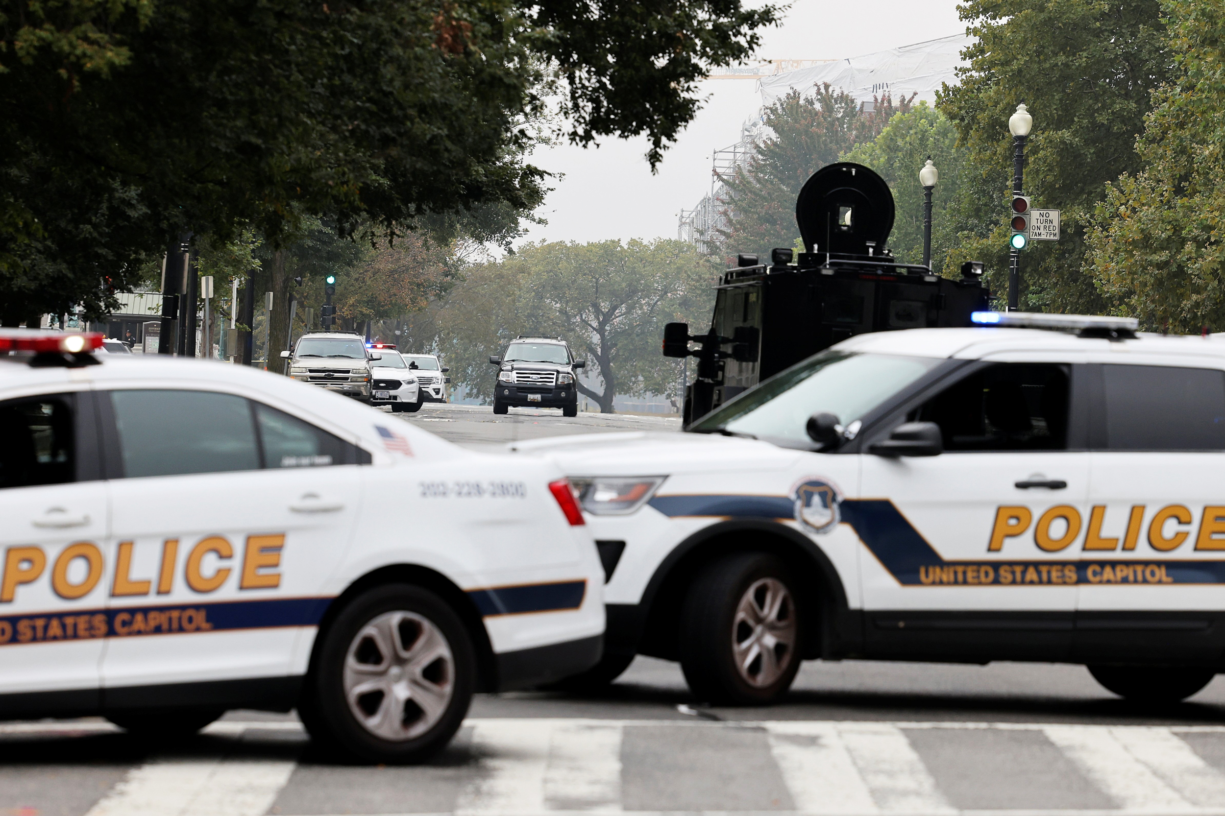 Capitol Police respond to 'suspicious vehicle' outside Supreme Court, officials say