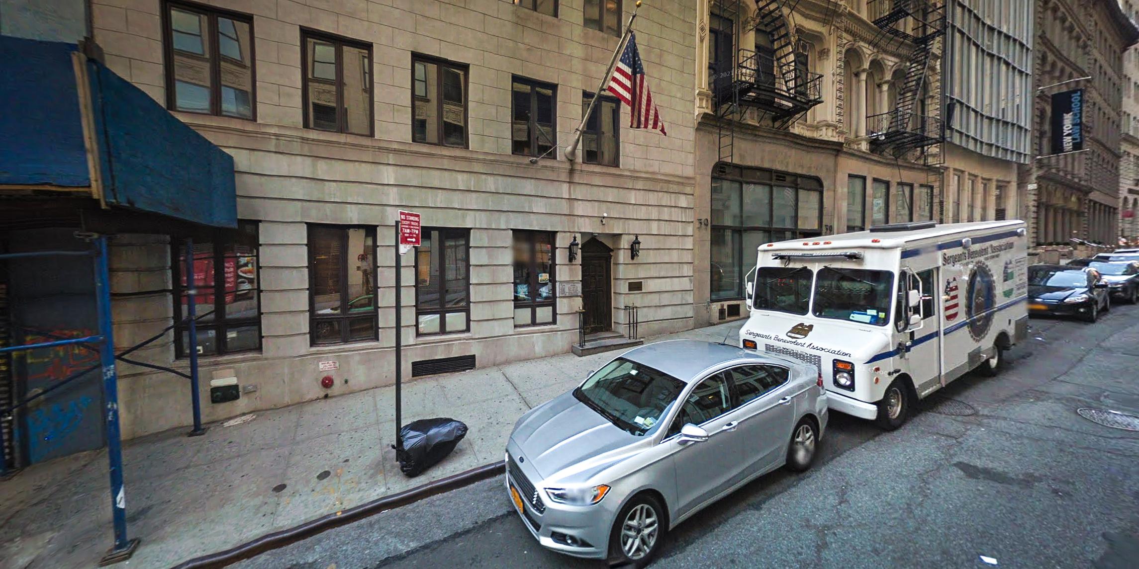 FBI raids New York City police union office