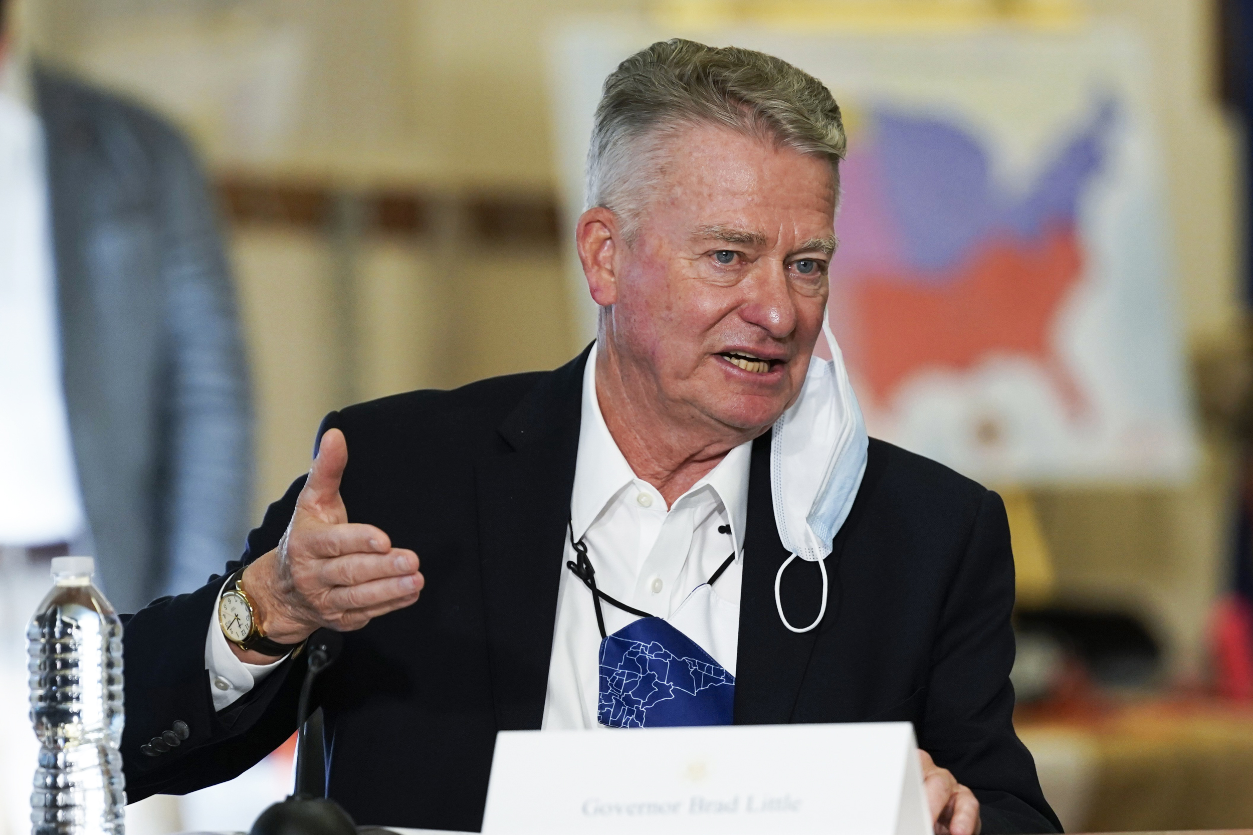 Idaho lt. governor issues 'vaccine passport' order while governor is out of state