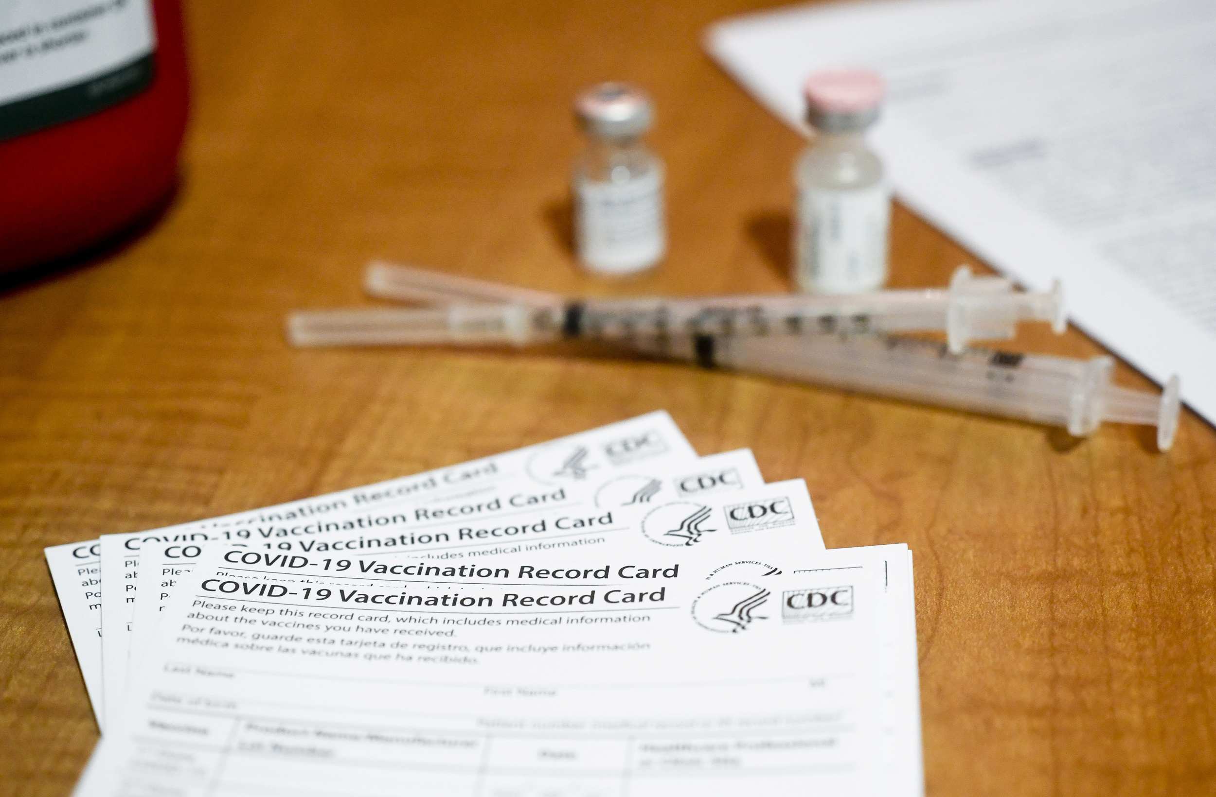 U.S. government intercepts reams of fake vaccination cards from China