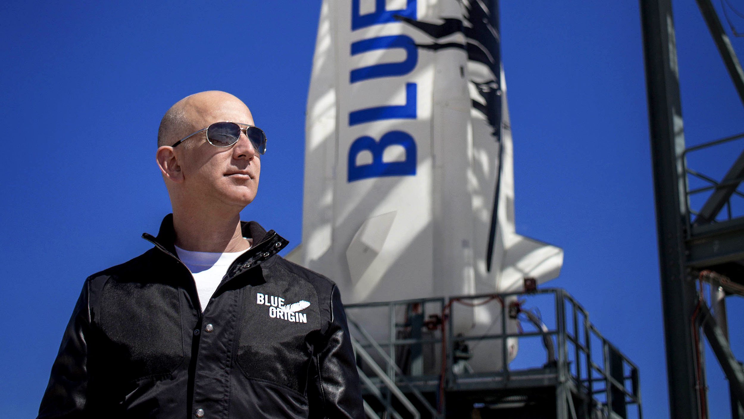 Amazon's Jeff Bezos to deliver history with first all-civilian suborbital flight