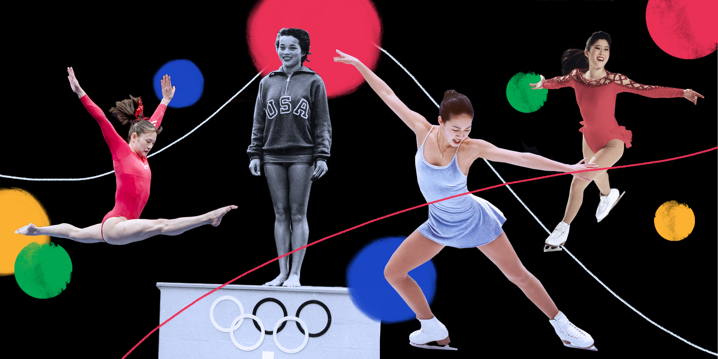 How the media has traditionally covered Asian Olympians' bodies