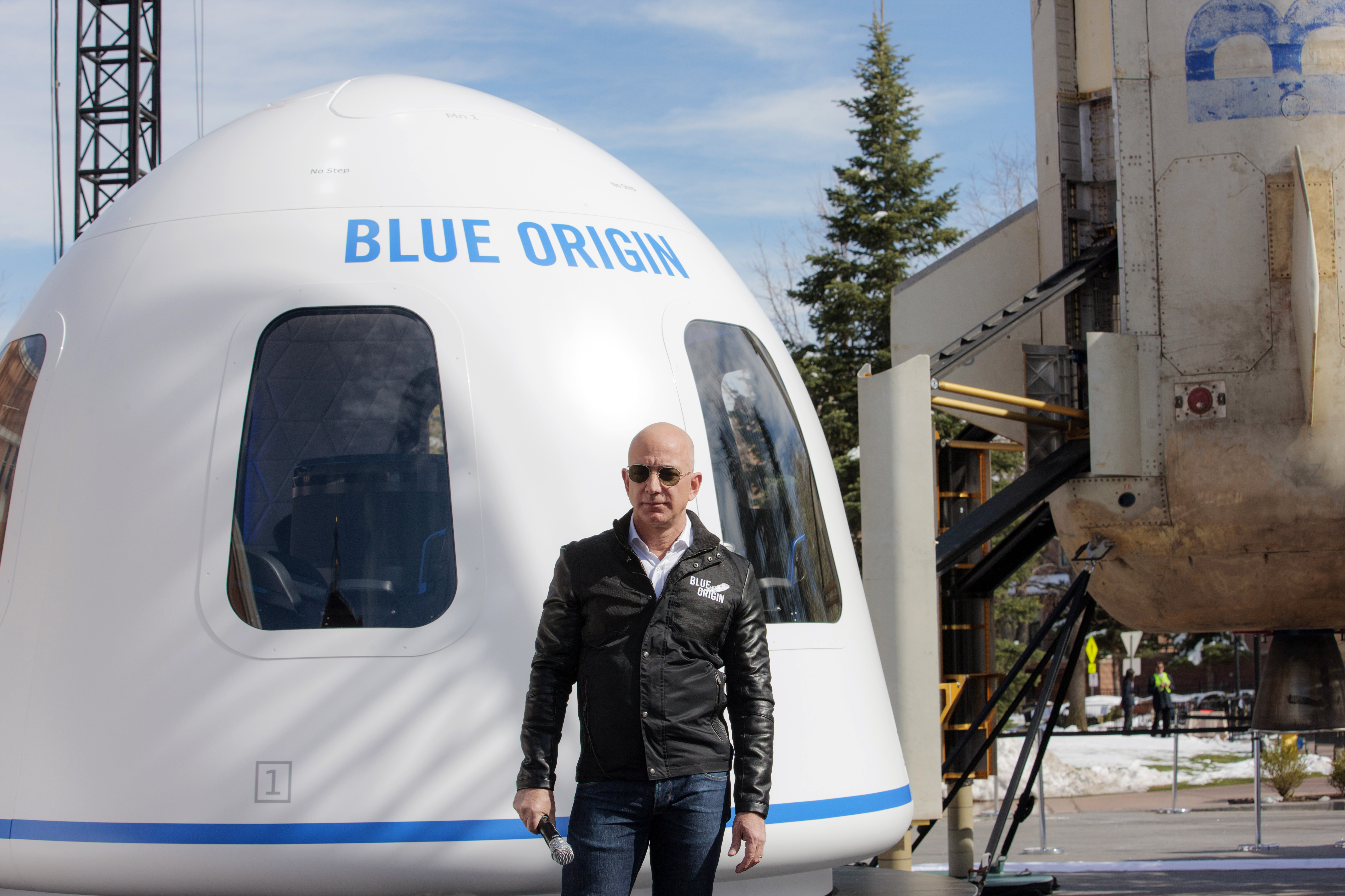Bezos' launch into space tomorrow could make history in more ways than one