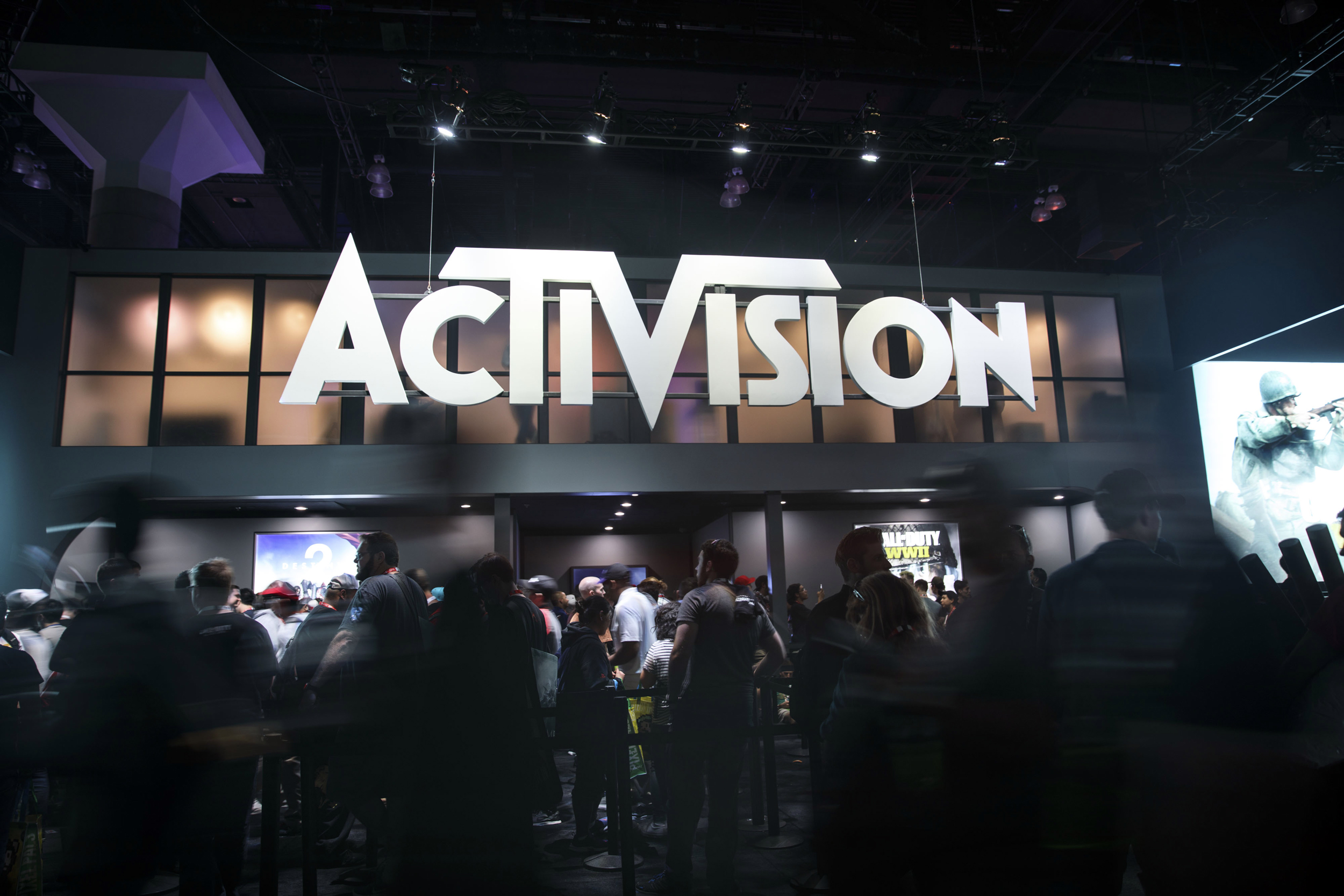 Activision Blizzard workers walk out after sexual harassment lawsuit