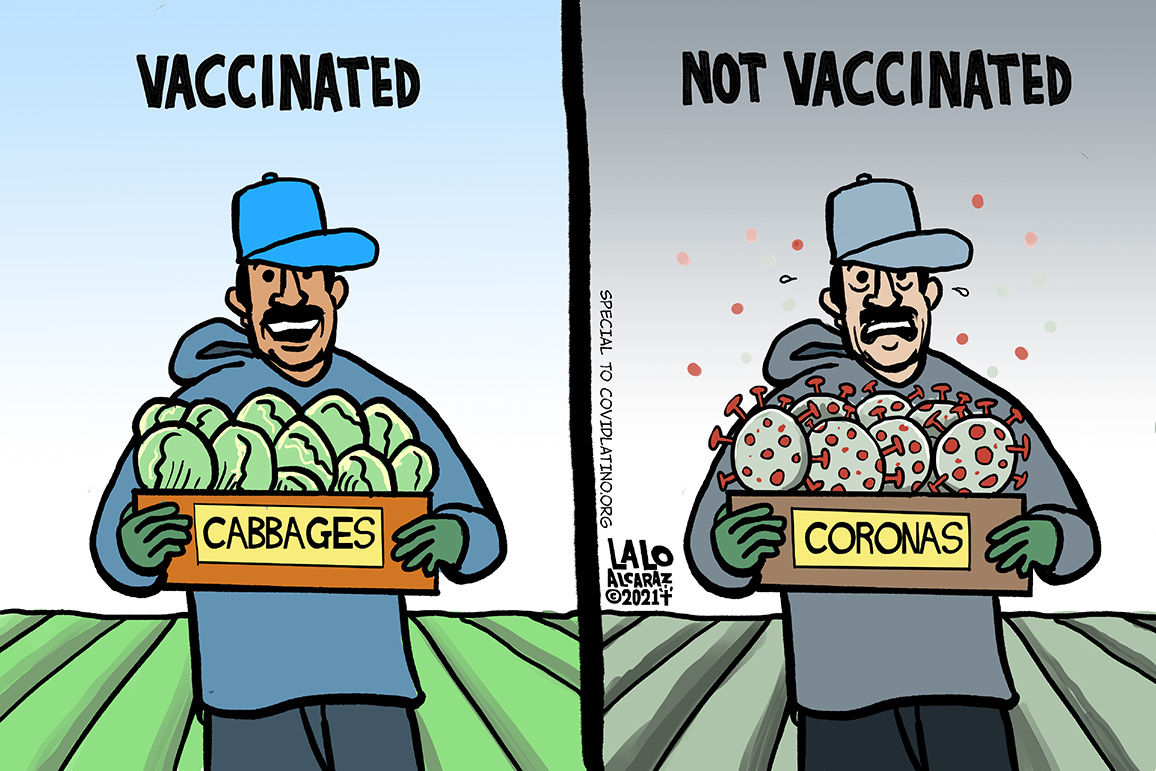 Just what the doctor ordered: A cartoonist combats vaccine hesitancy with humor
