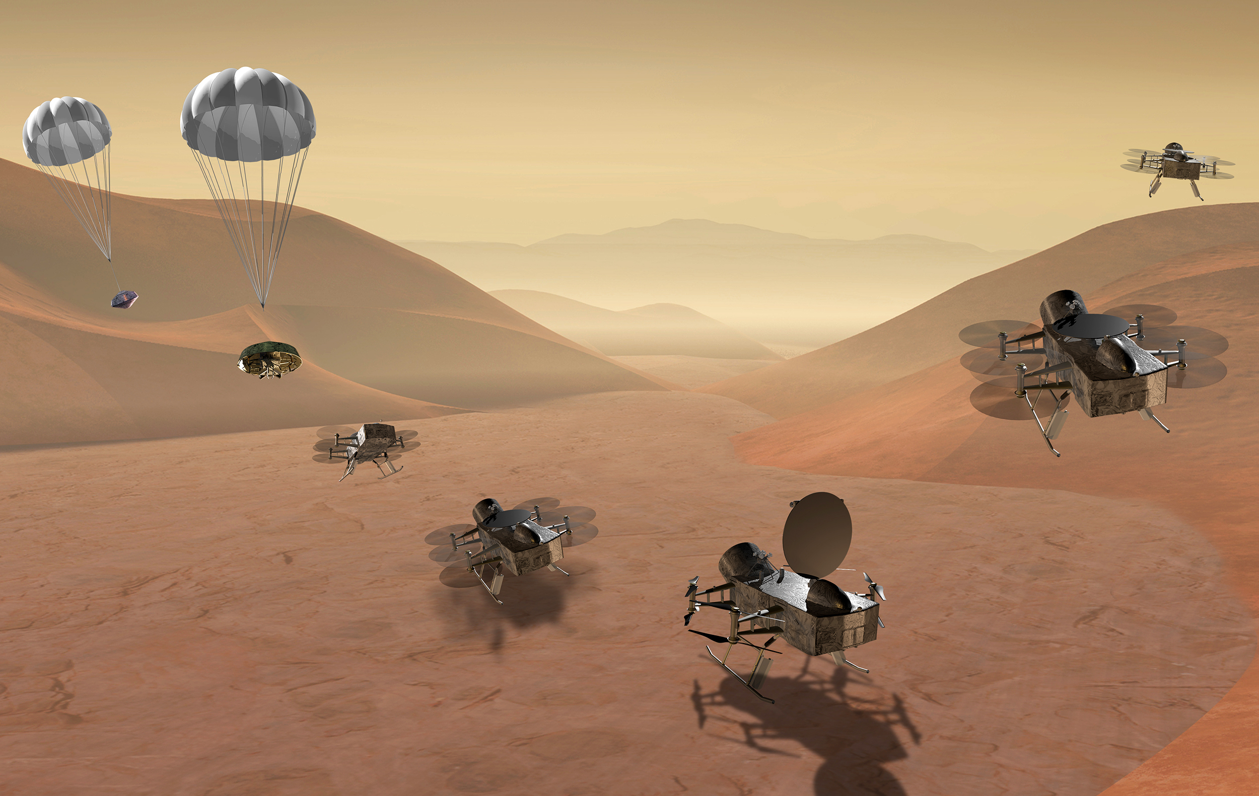 This flying space probe will look for life around Saturn