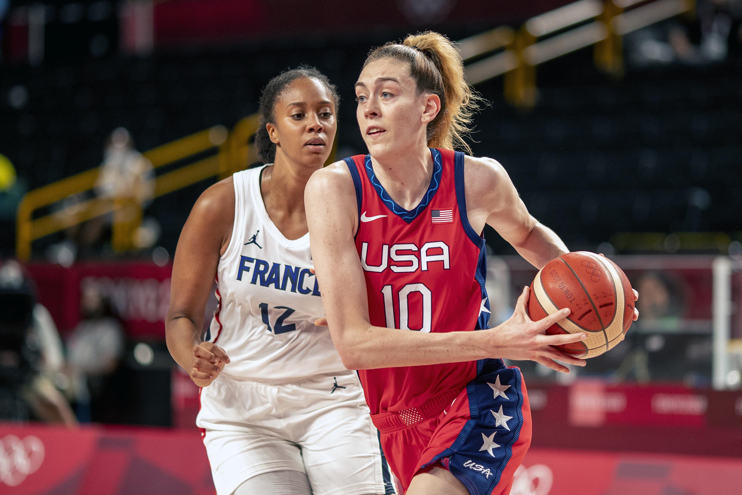 WNBA star Breanna Stewart and wife welcome first child