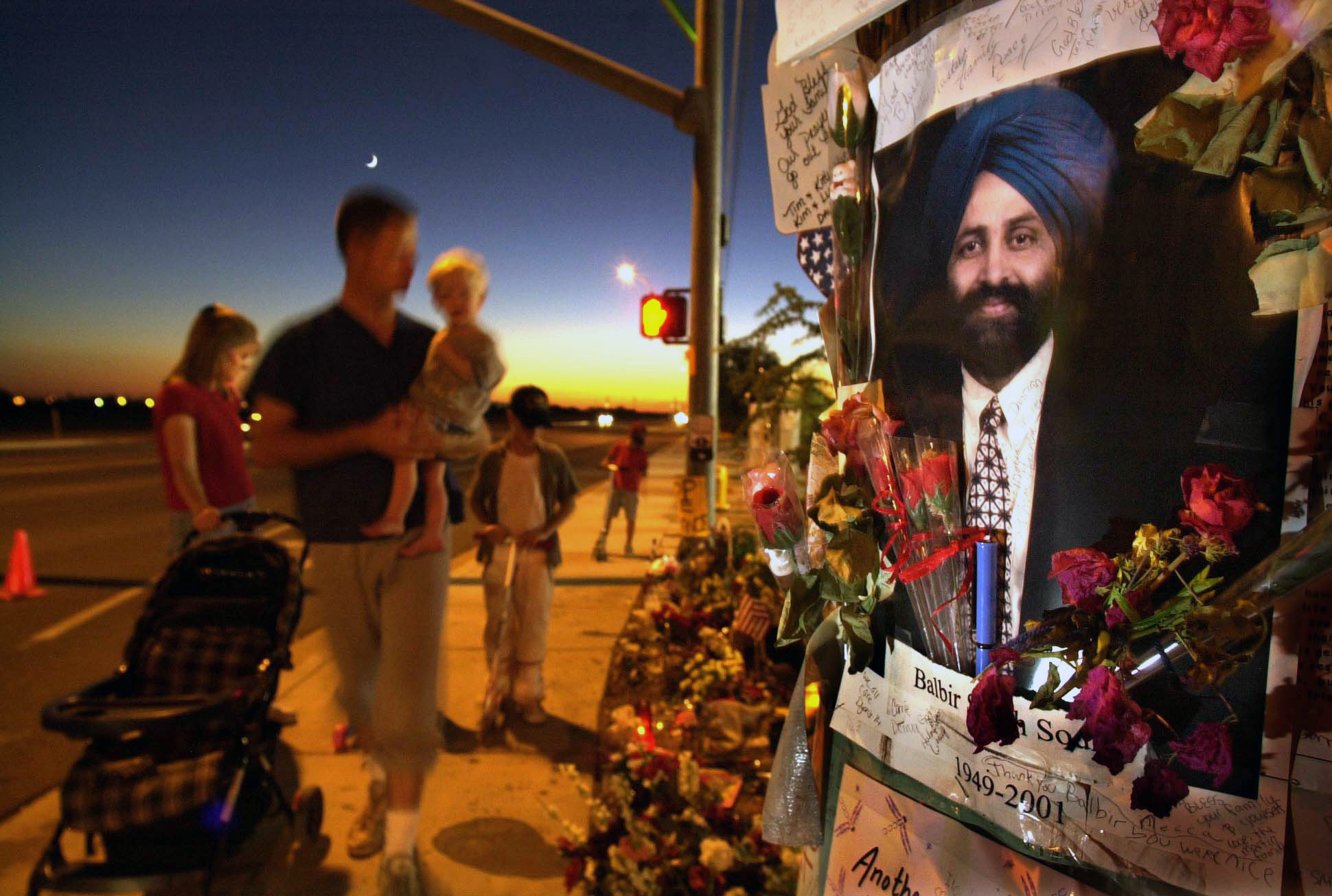 A Sikh man was the first victim of a wave of post-9/11 hate crimes on turbaned men