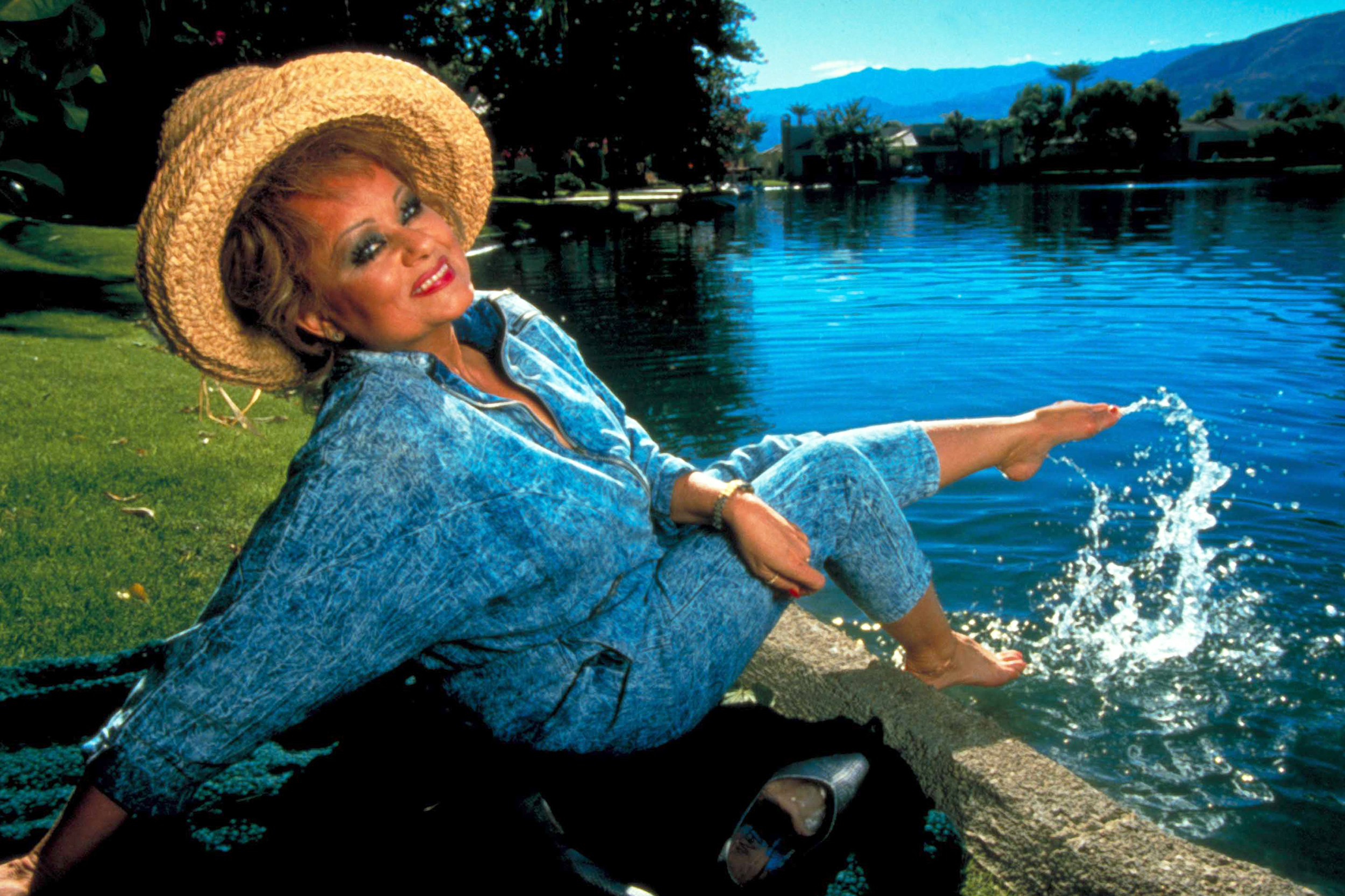 Tammy Faye Bakker helped give a face to the AIDS epidemic. A new biopic honors that legacy.