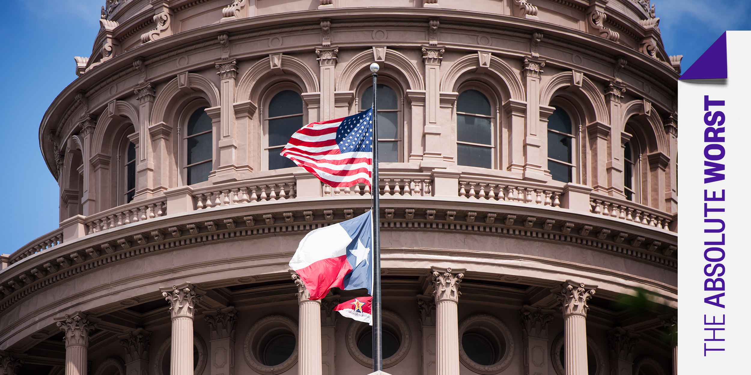 The Texas Legislature is the 'Absolute Worst.' Here are dishonorable mentions.