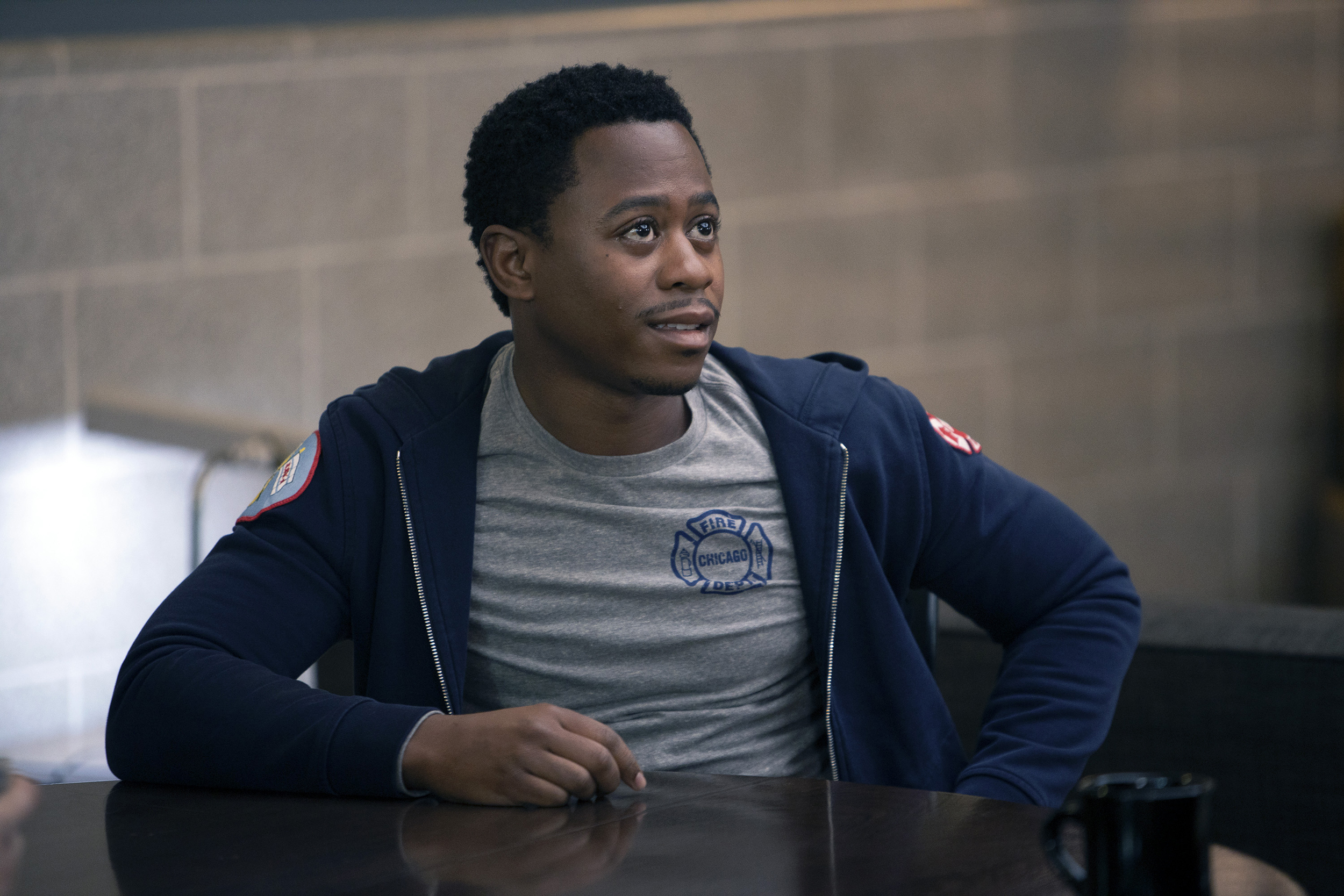 Daniel Kyri, a 'Chicago Fire' guest-turned-series regular, has a complex story to tell