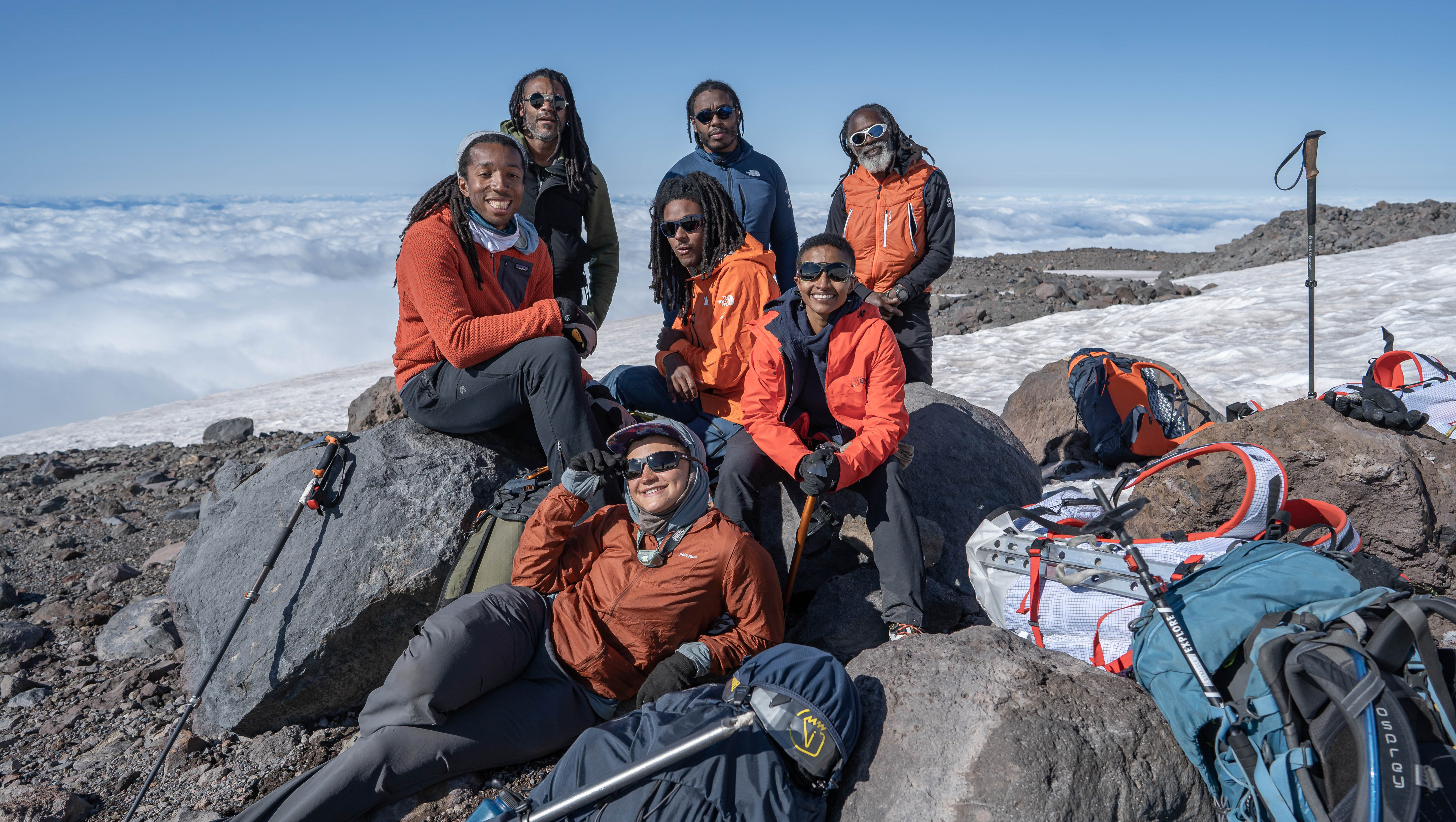 All-Black Everest team aims to diversify the outdoors industry