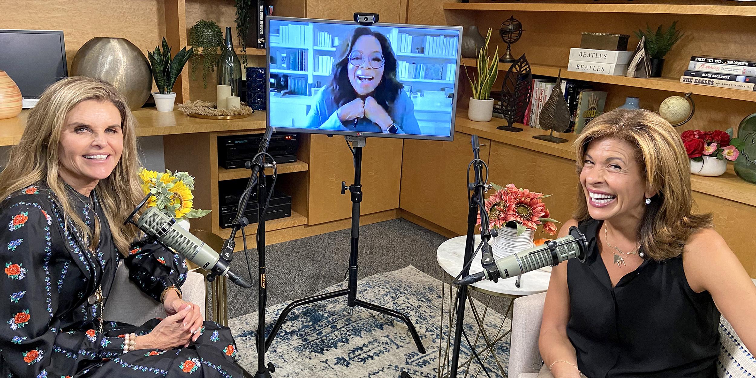Oprah Winfrey tells Hoda Kotb that she has three close friends
