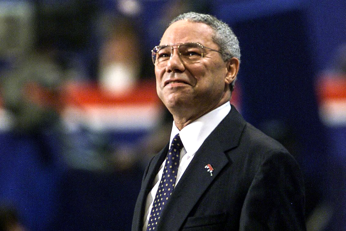 Colin Powell had no party loyalty. For that, he was booed by some Republicans.
