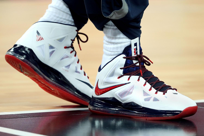 jump for a pair of LeBron kicks