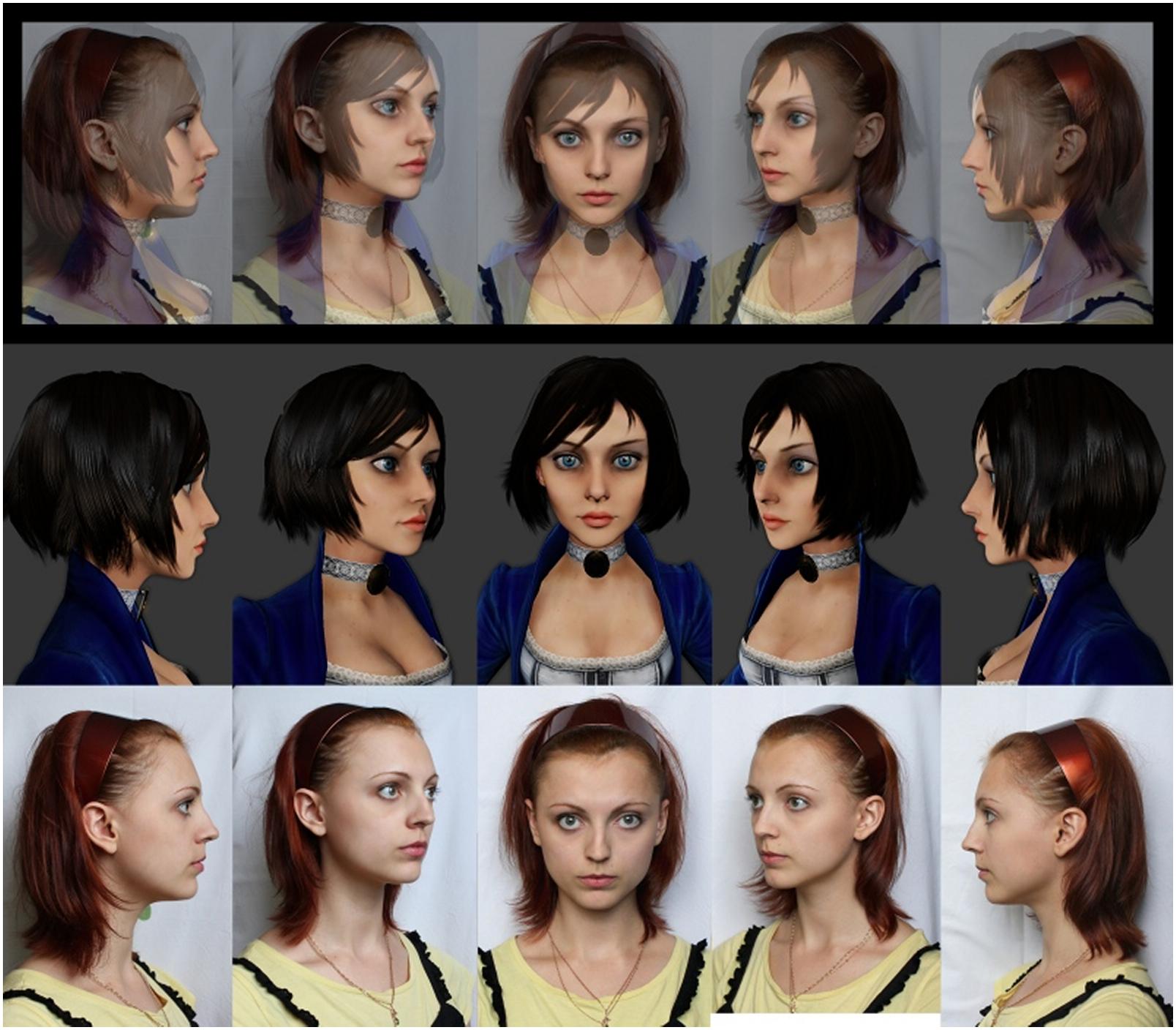 Anna Moleva as BioShock Infinite Elizabeth