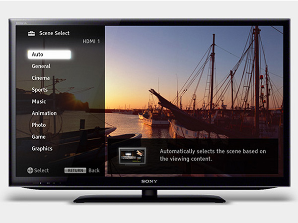 Sony Bravia LED EX645 Internet TV