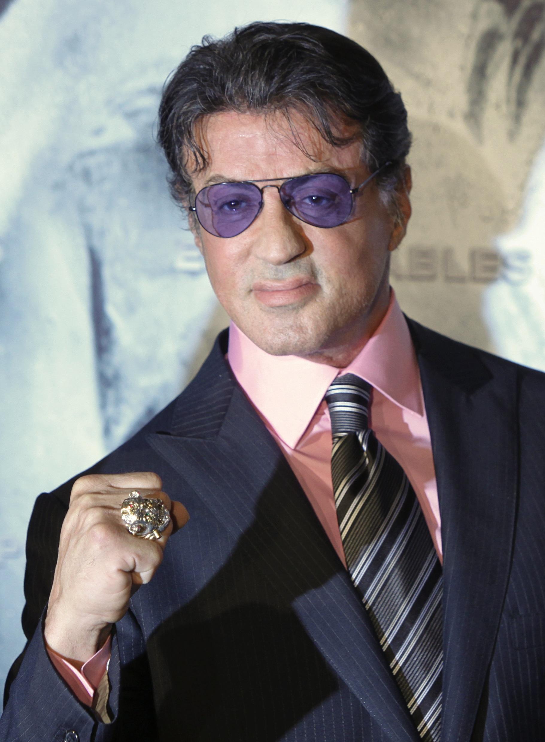 Körpergröße Sylvester Stallone