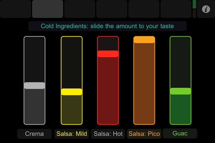 Burritobot interface