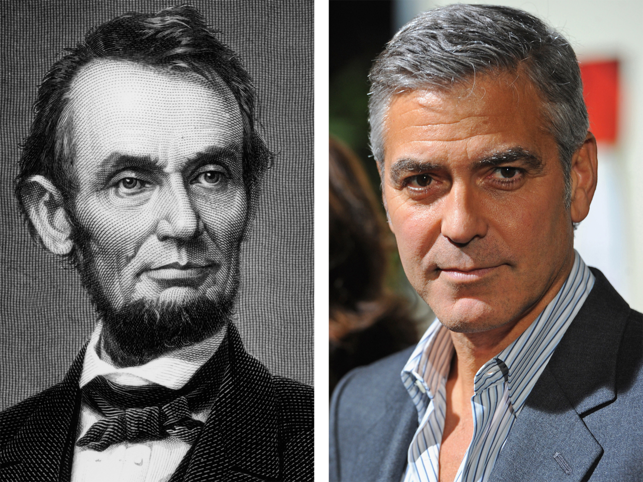 George Clooney Is Abraham Lincoln S Distant Cousin Says