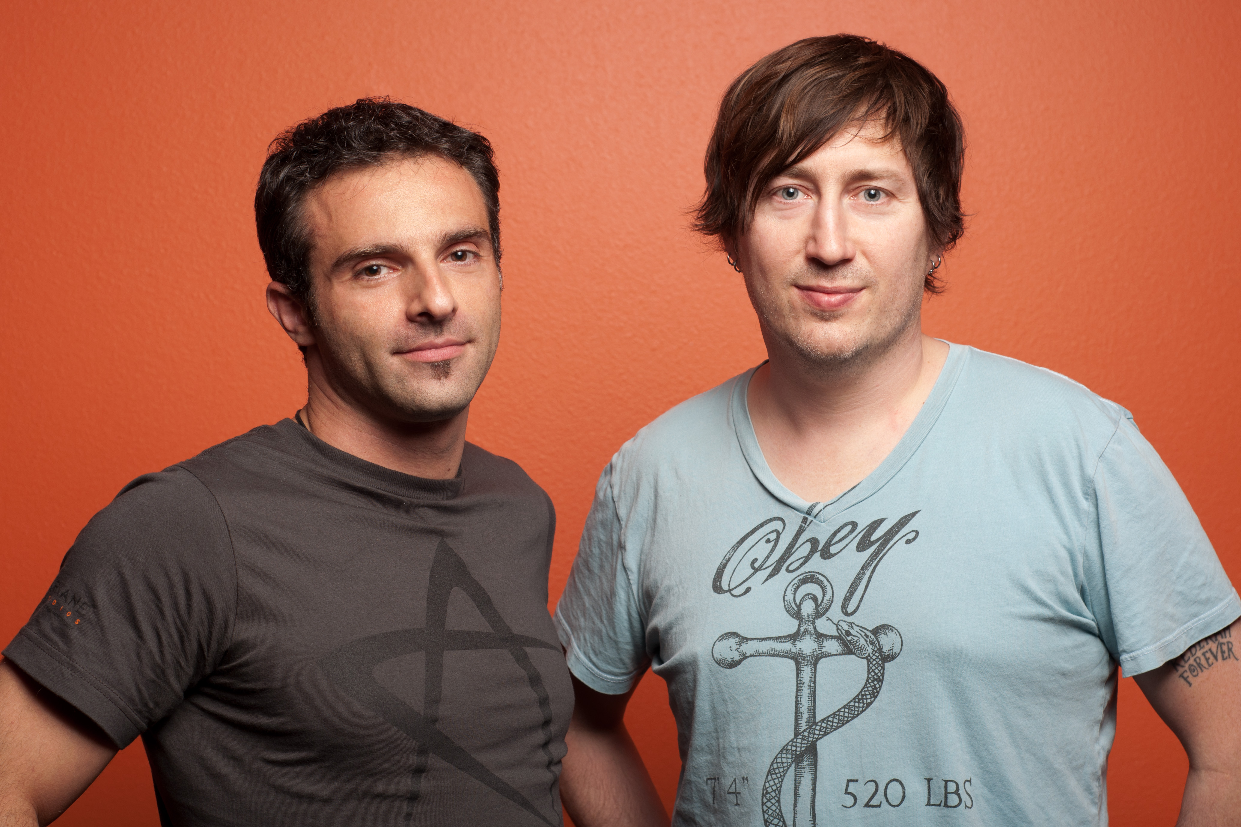 Raphael Colantonio and Harvey Smith