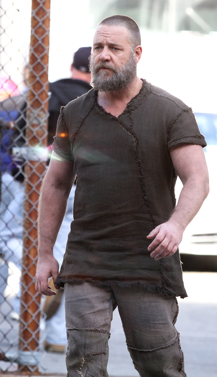 Russell Crowe builds himself an ark in 'Noah' - TODAY.com