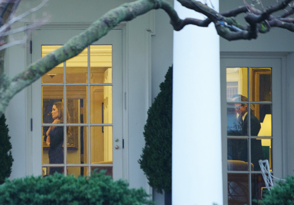 Jolie Pitt Pay A Visit To The White House