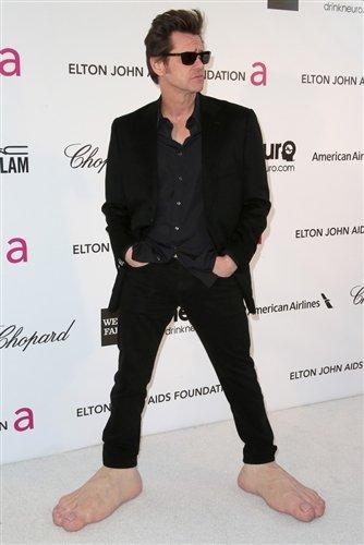 Jim Carrey Oscar 2013 Jim Carrey wear...