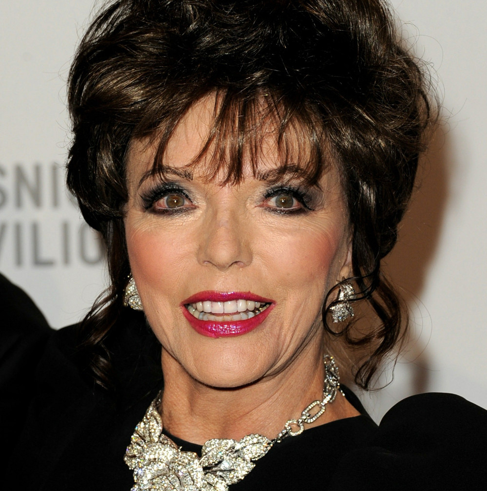 Joan Collins Attempts To Explain Jennifer Aniston Diss