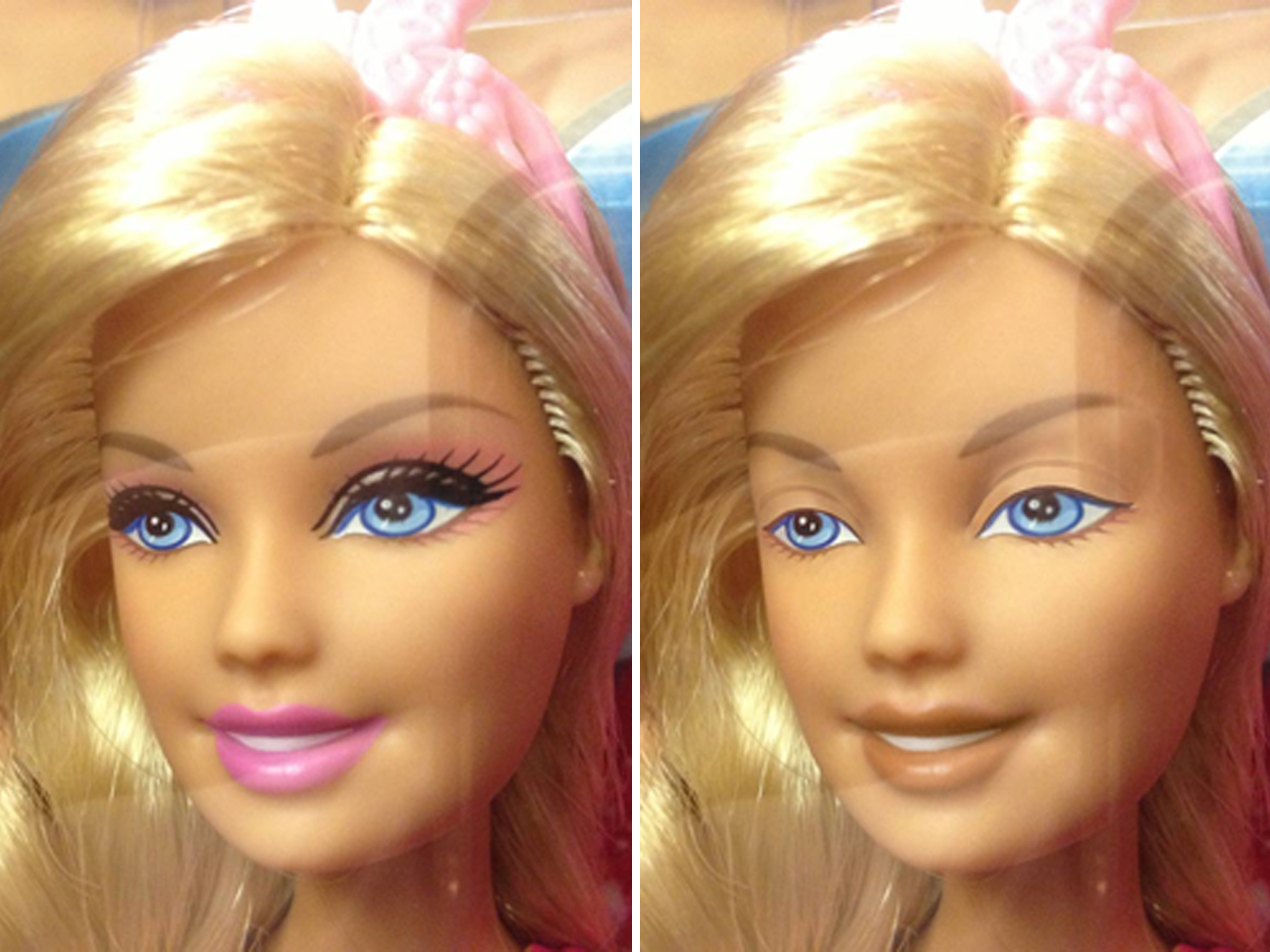 Dolls Without Makeup An Artist S Vision Goes Viral