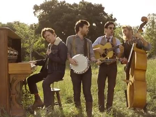 Image: Mumford & Sons video
