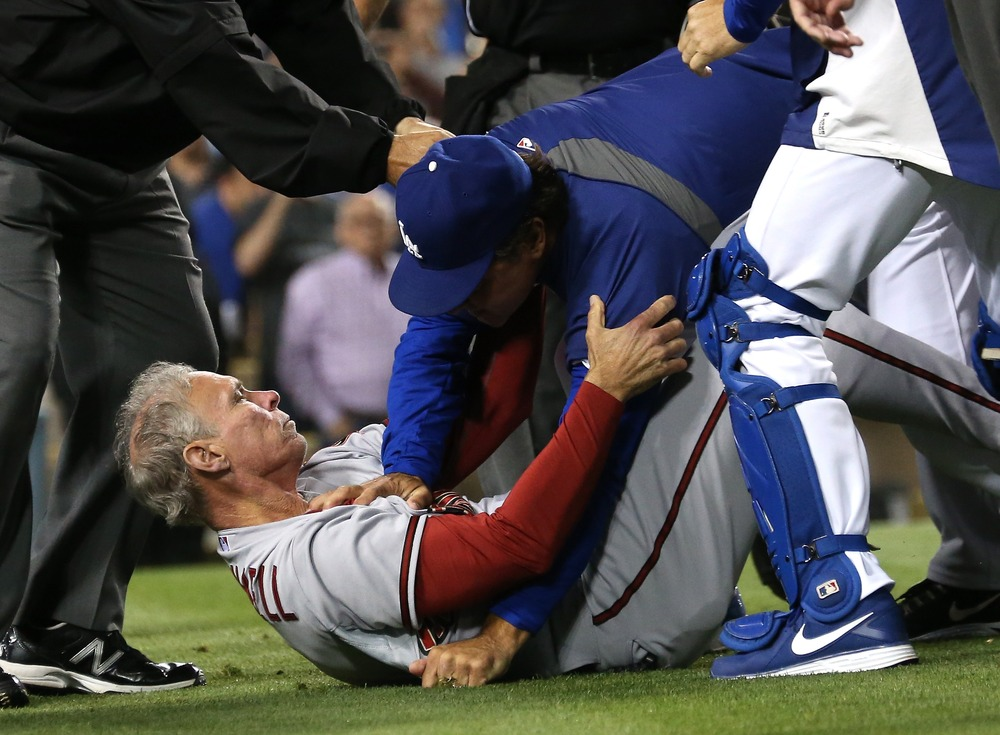 Image: Dodgers-Diamondbacks brawl